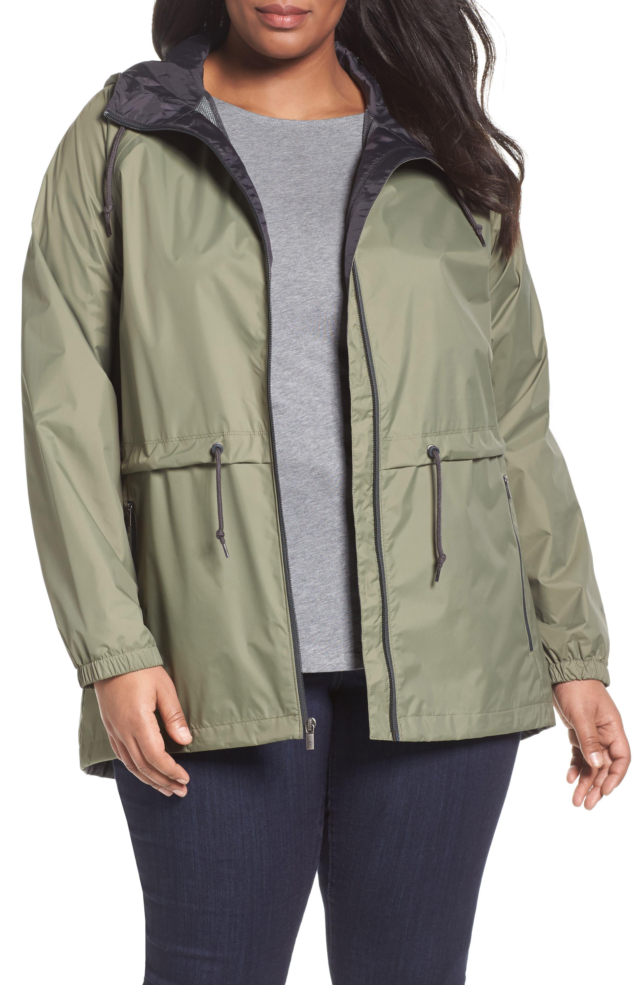 'Arcadia' Hooded Waterproof Casual Jacket,                             Main thumbnail 6, color,