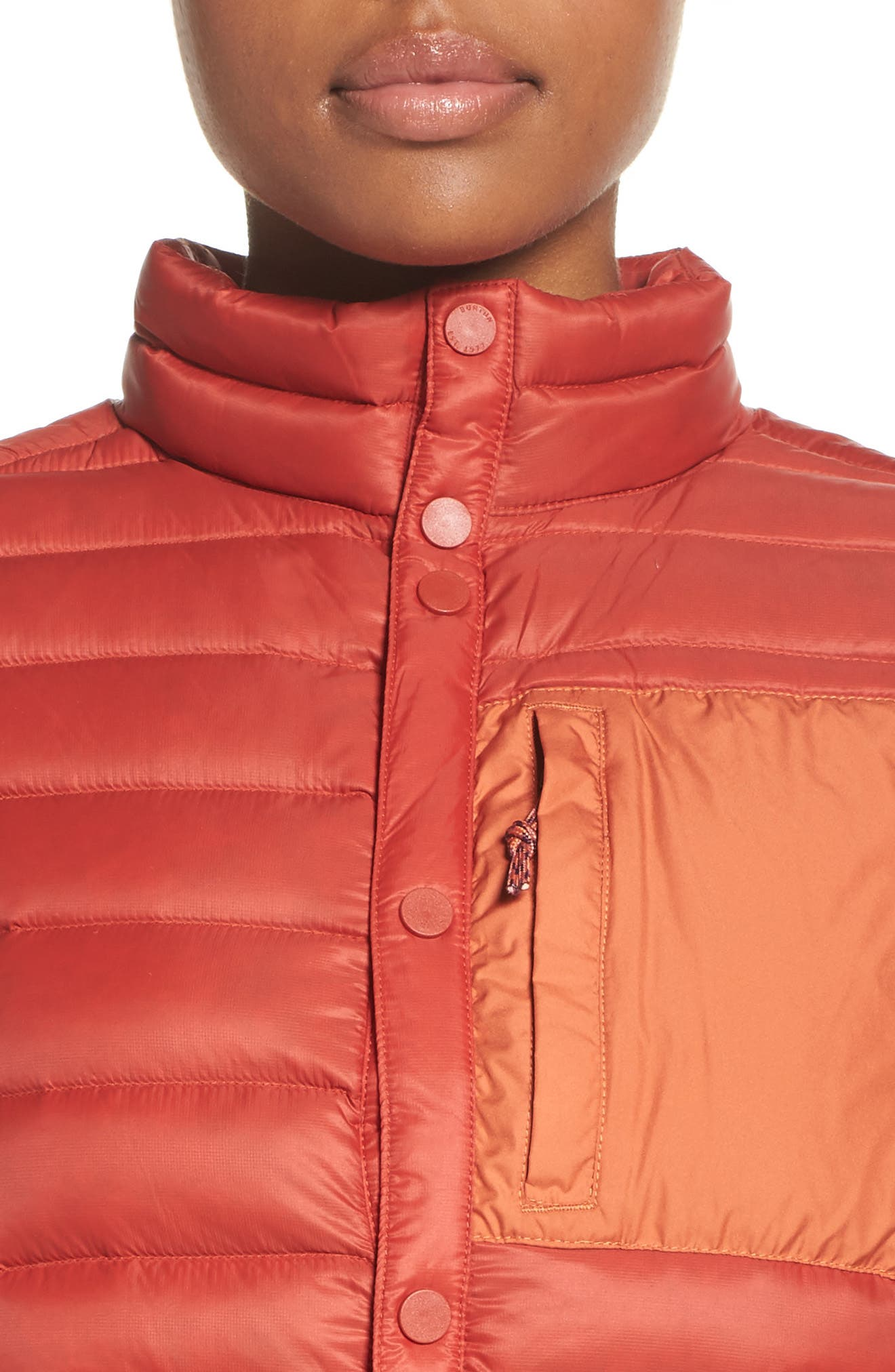 Evergreen Water-Resistant Down Insulator Vest,                             Alternate thumbnail 8, color,