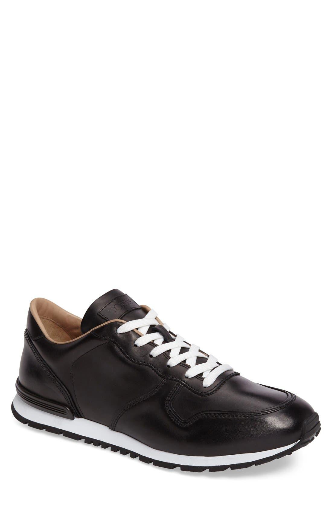 'Allacciato' Sneaker,                             Main thumbnail 1, color,                             001