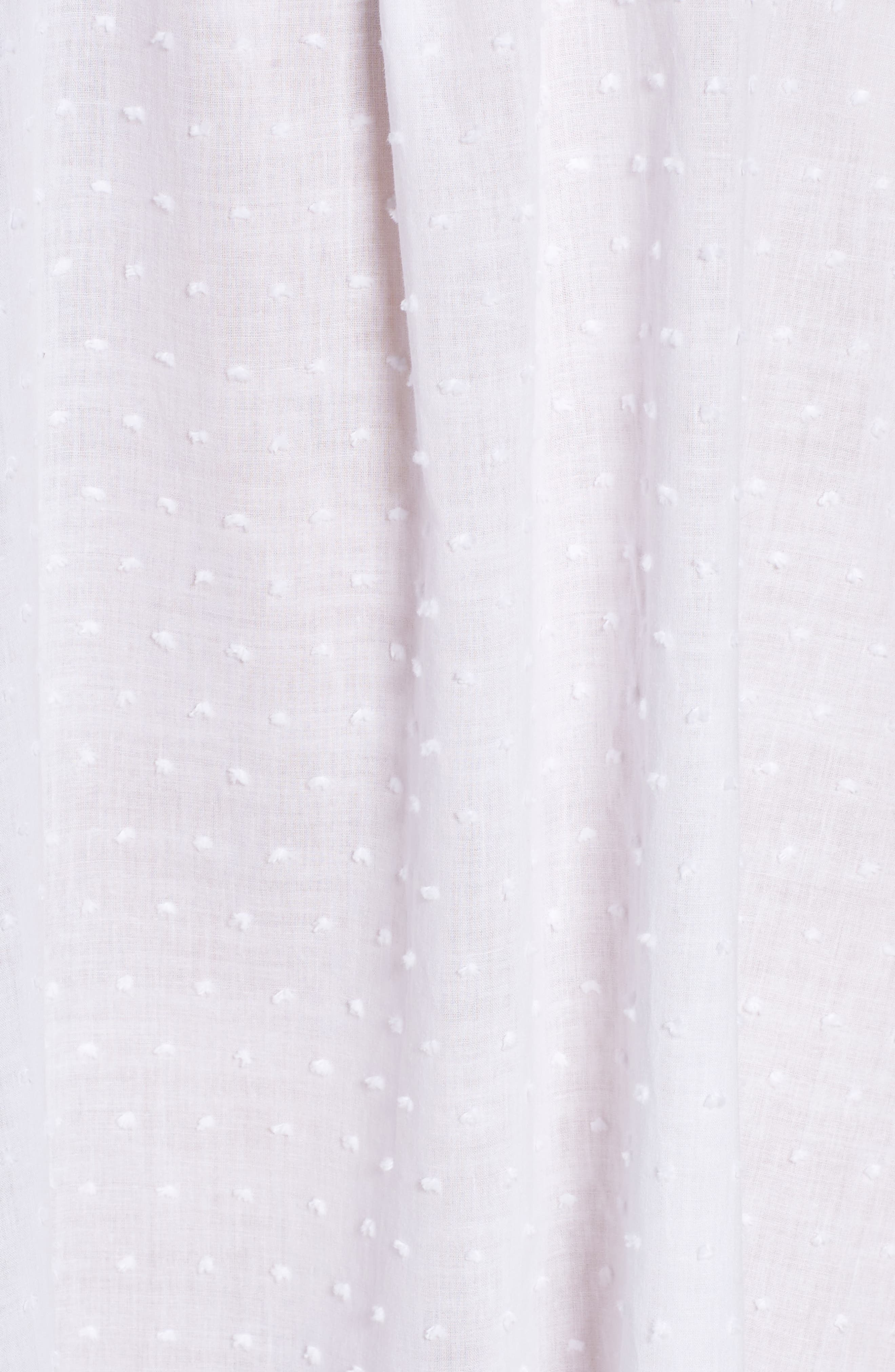 Swiss Dot Nightgown,                             Alternate thumbnail 5, color,
