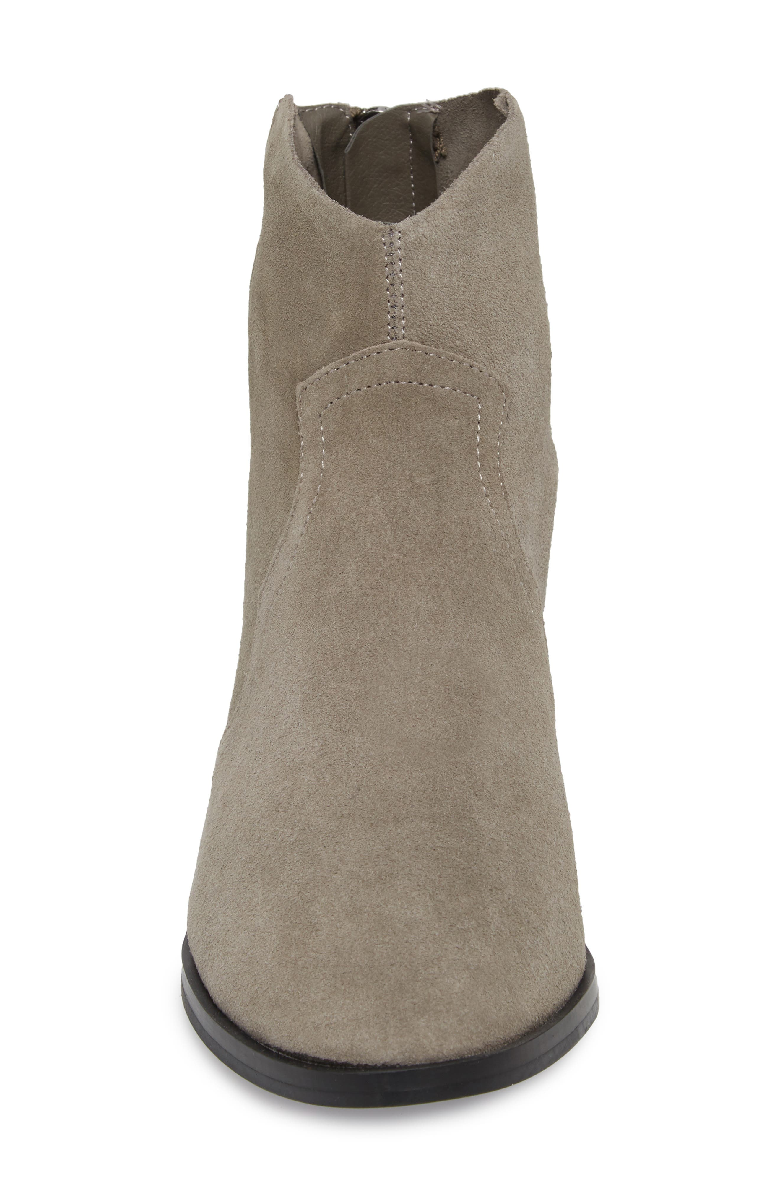 Betty Western Bootie,                             Alternate thumbnail 4, color,                             GREY