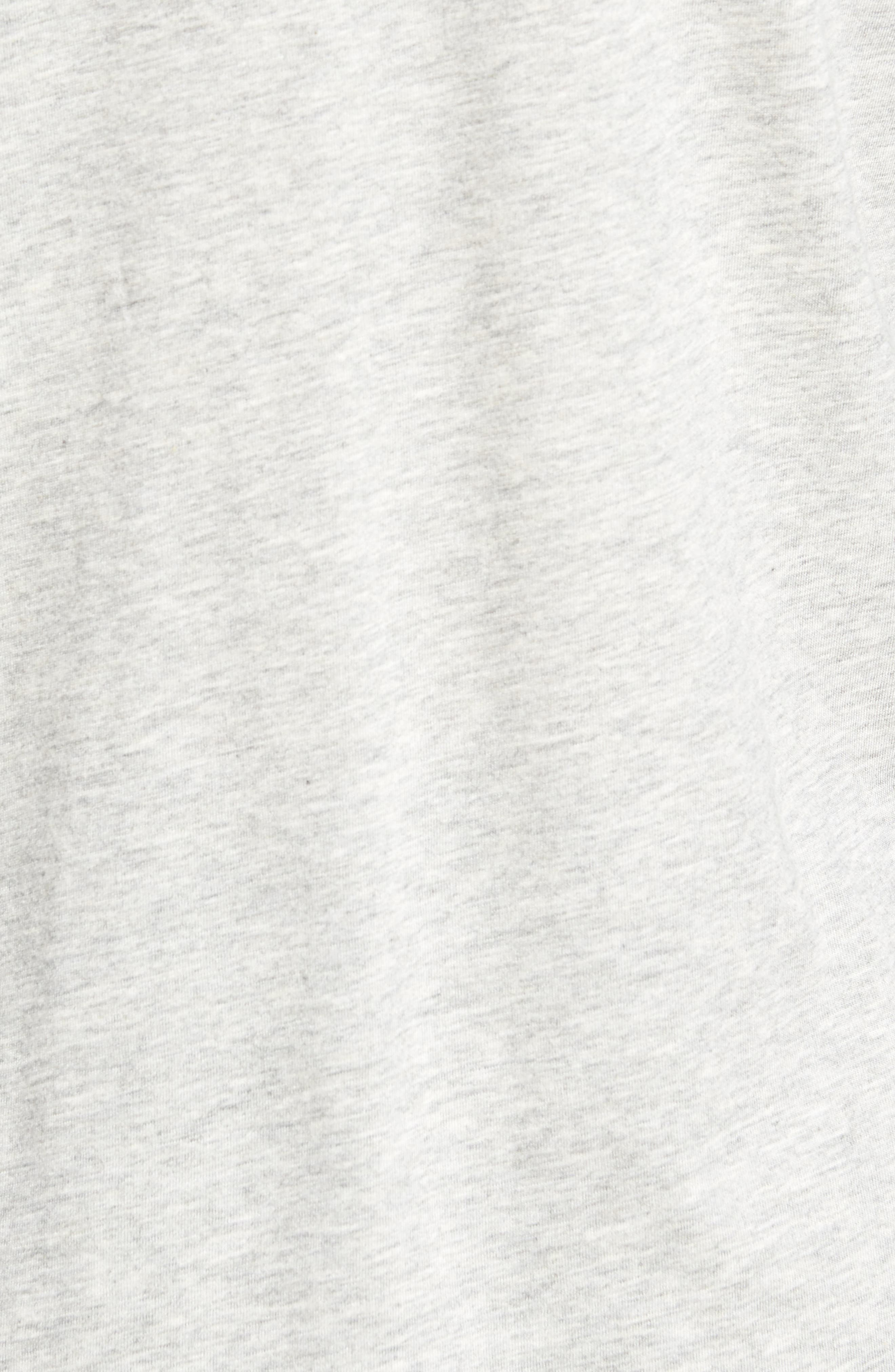 Supreme Comfort Cotton & Modal T-Shirt,                             Alternate thumbnail 5, color,                             024
