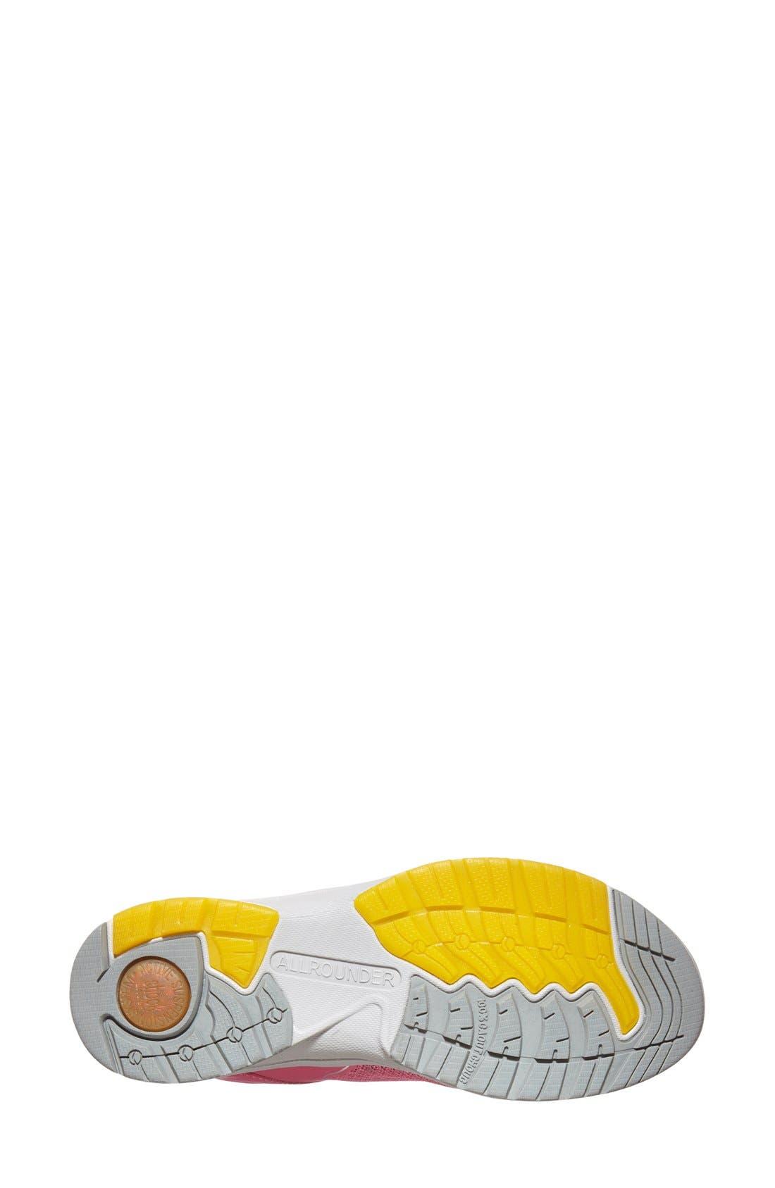 'Dakona' Sneaker,                             Alternate thumbnail 4, color,                             RASPBERRY