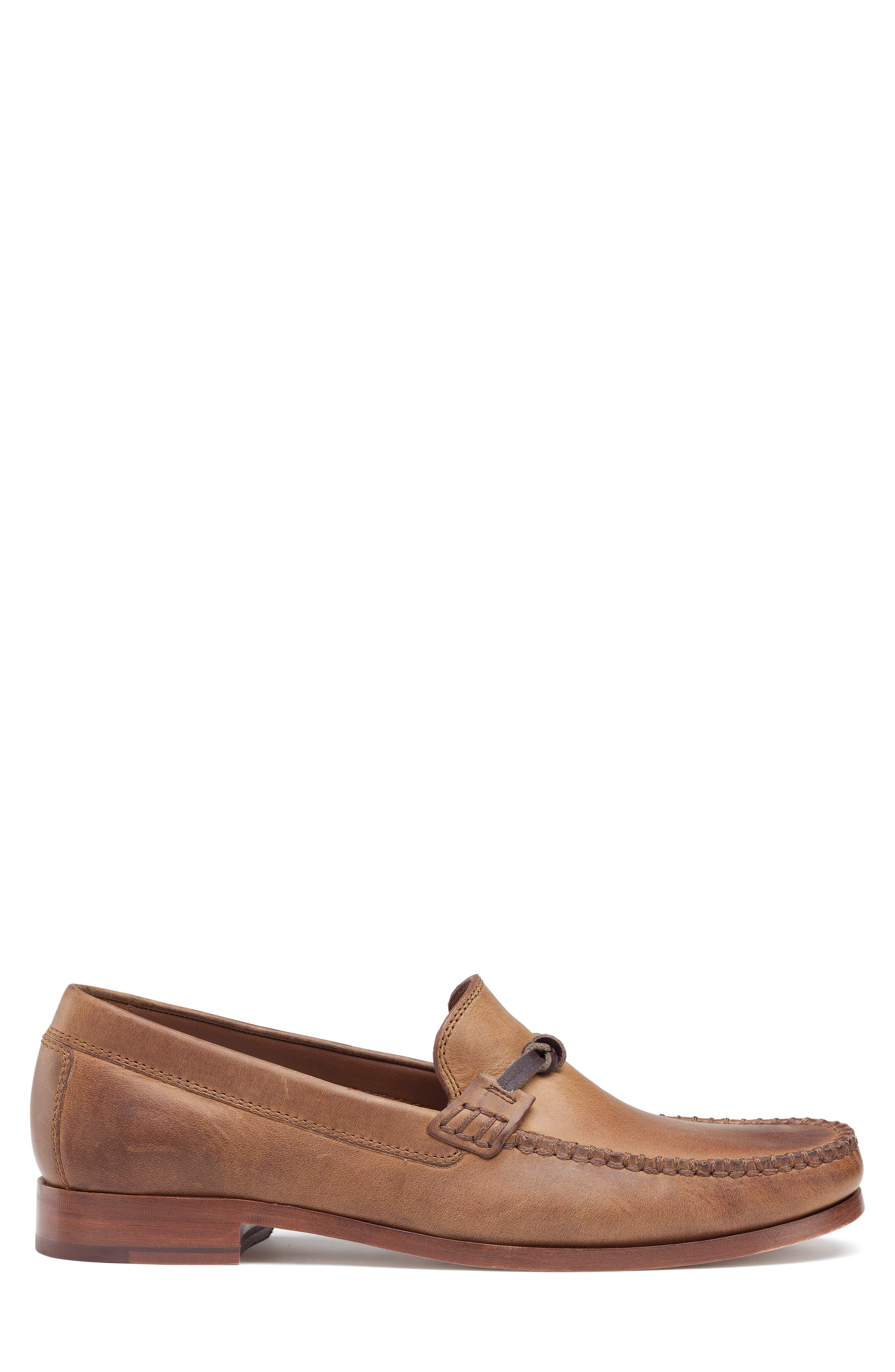 'Sawyer' Loafer,                             Alternate thumbnail 3, color,                             TAN LEATHER
