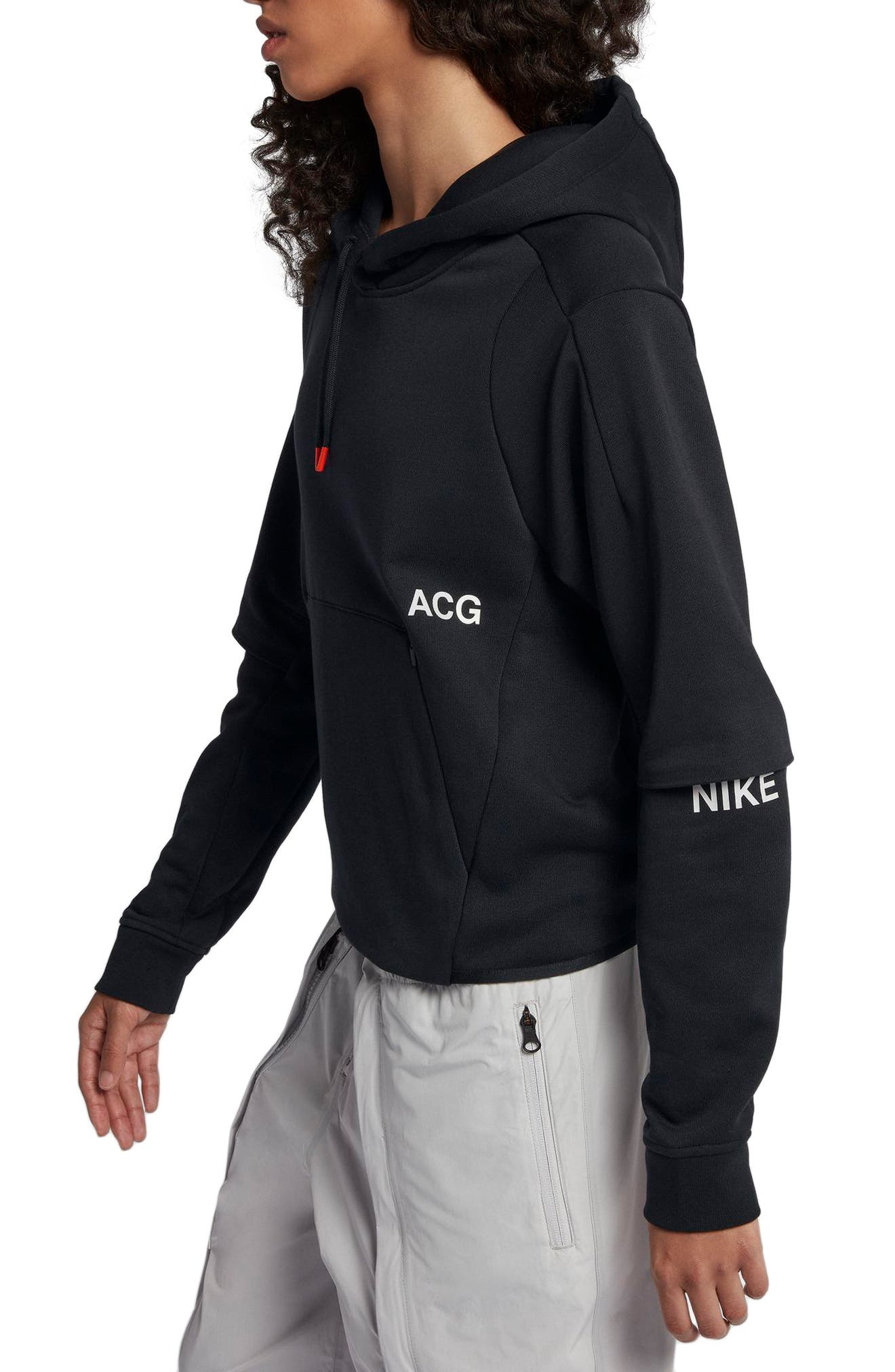 NikeLab ACG Women's Pullover Hoodie,                             Alternate thumbnail 7, color,