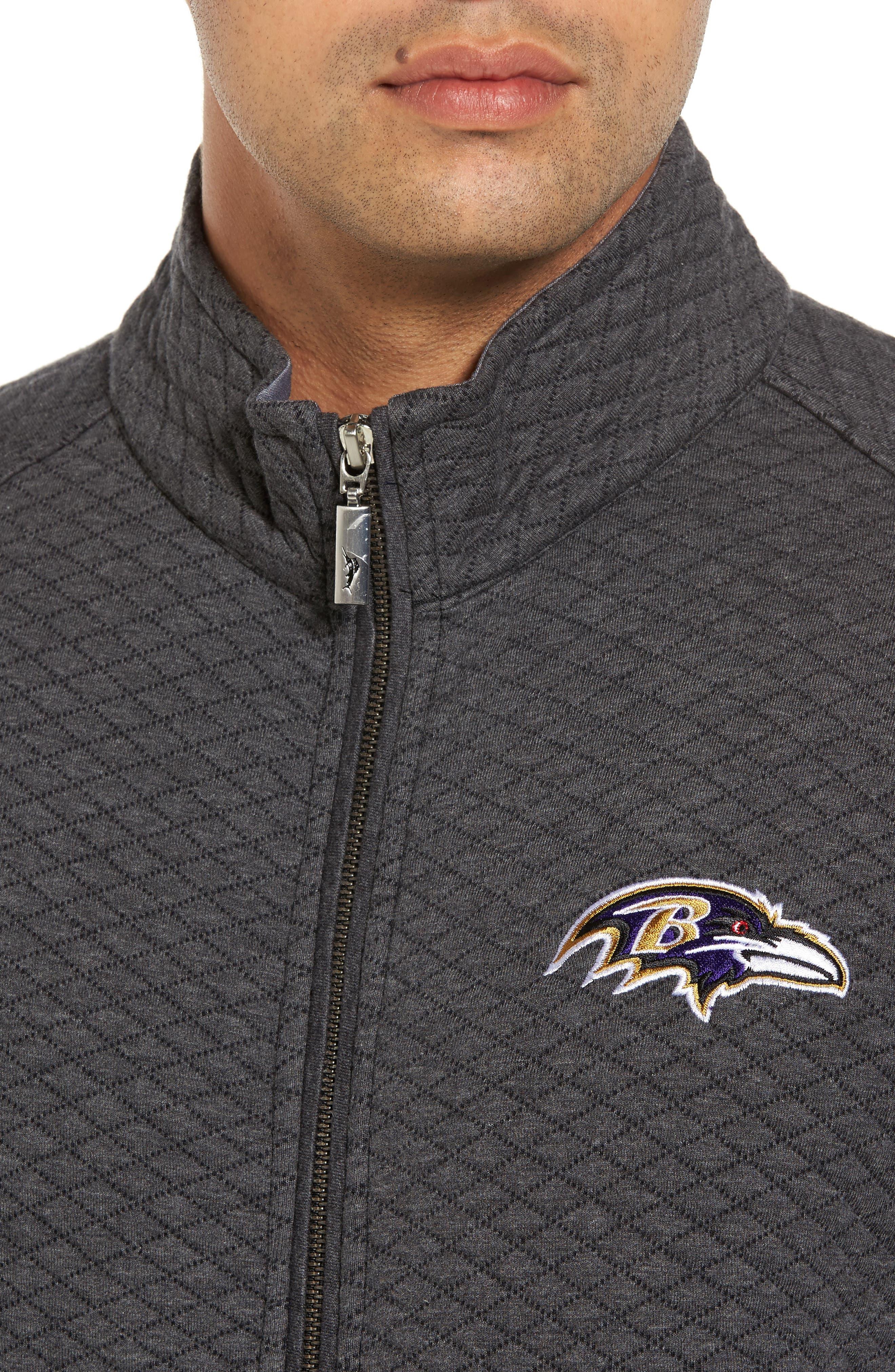 NFL Quiltessential Full Zip Sweatshirt,                             Alternate thumbnail 118, color,