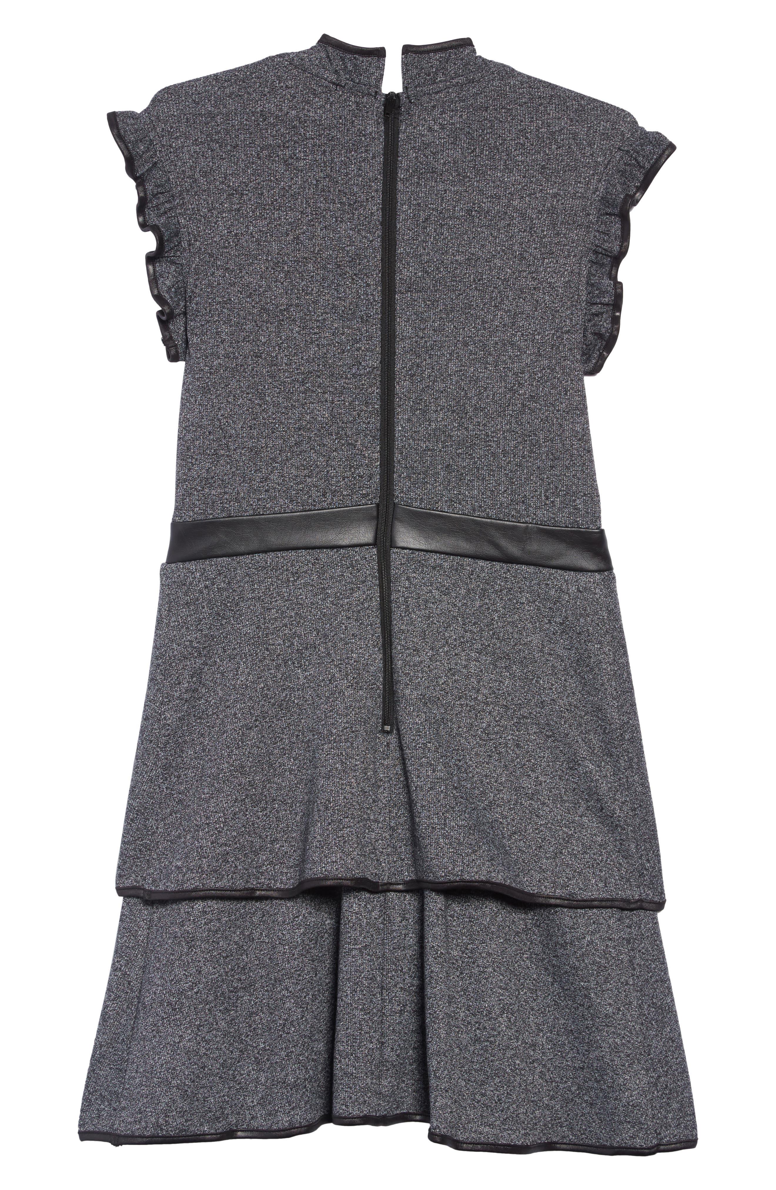 Carol Knit Dress,                             Alternate thumbnail 2, color,                             001
