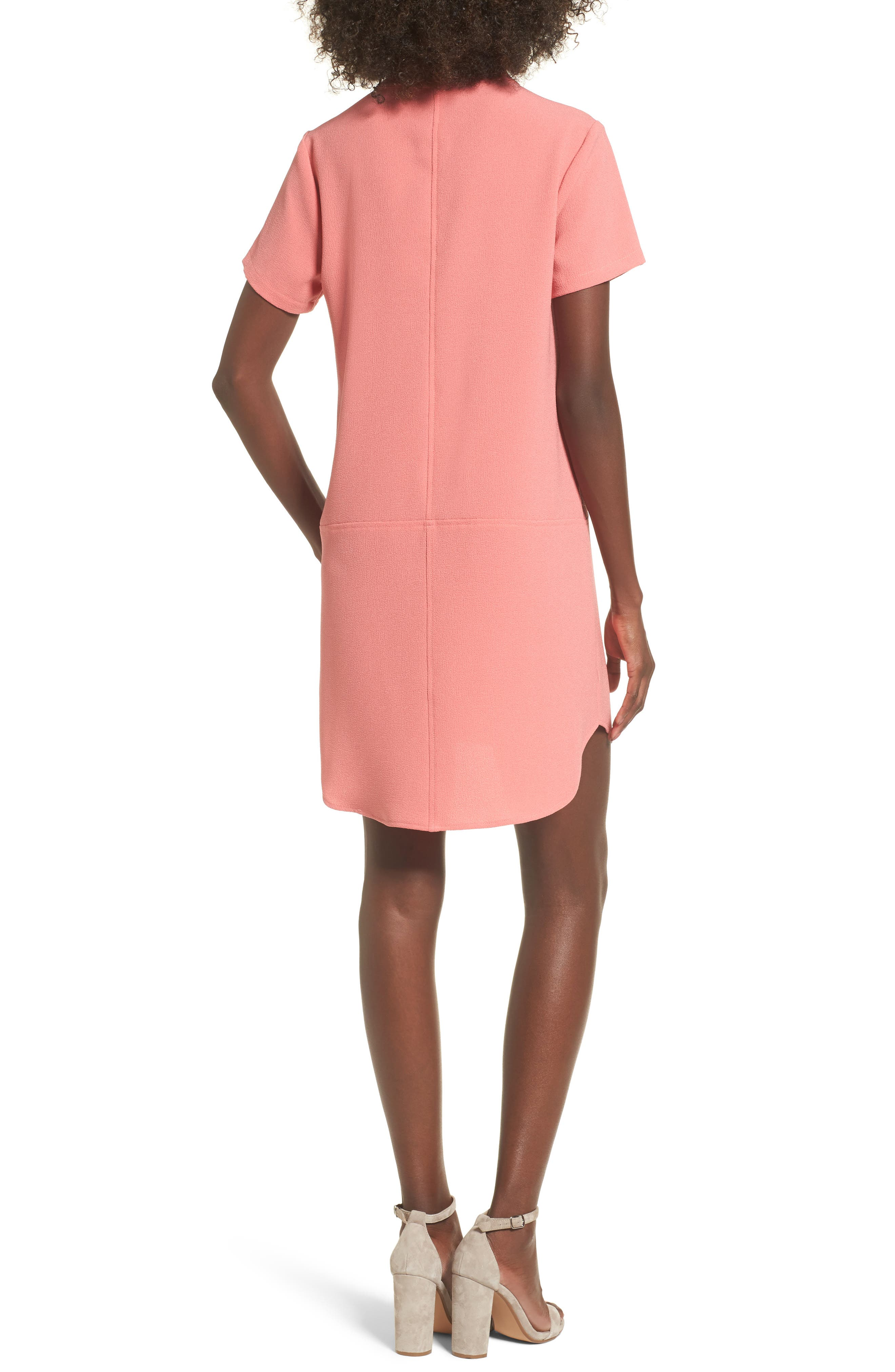 Hailey Crepe Dress,                             Alternate thumbnail 48, color,