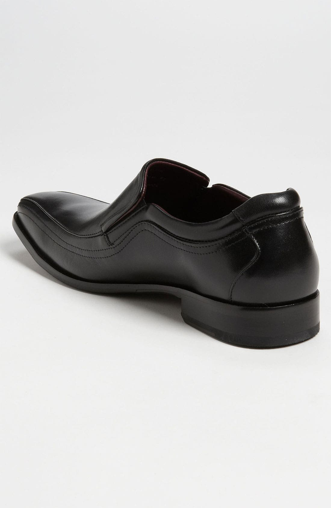 'Shaler' Venetian Loafer,                             Alternate thumbnail 2, color,                             BLACK
