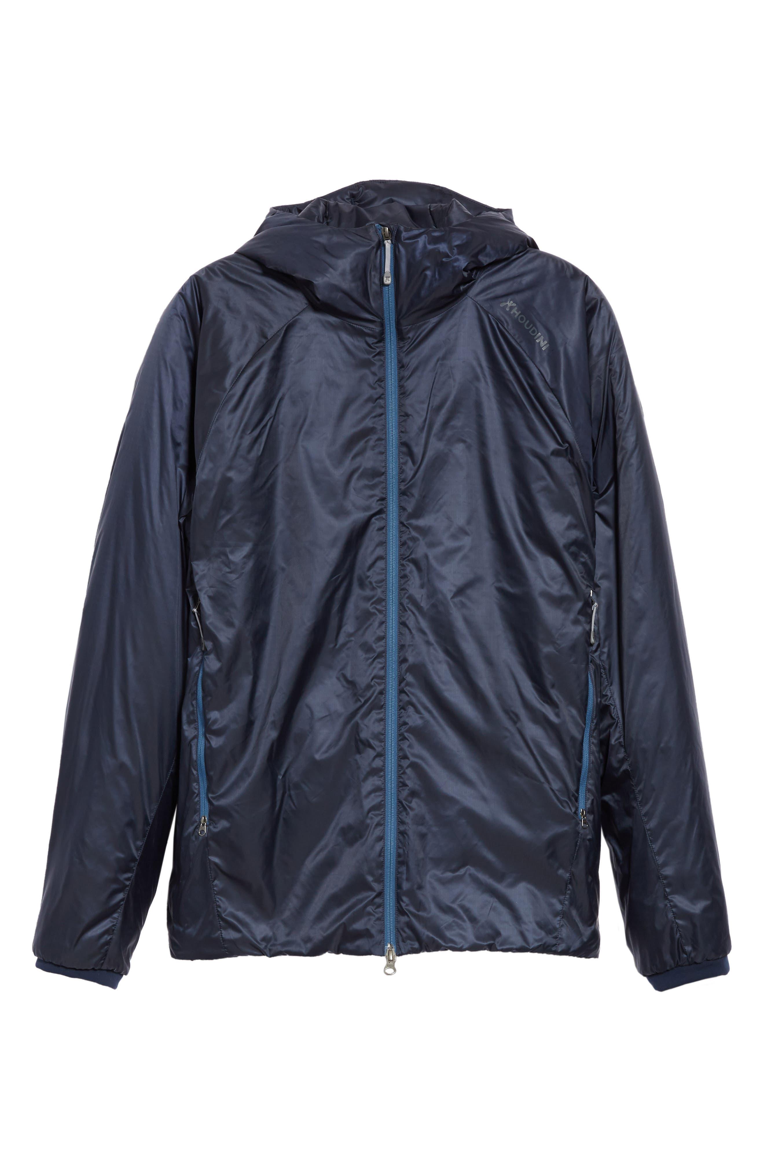 Houdini Mr. Dunfri Full Zip Hooded Jacket, Blue