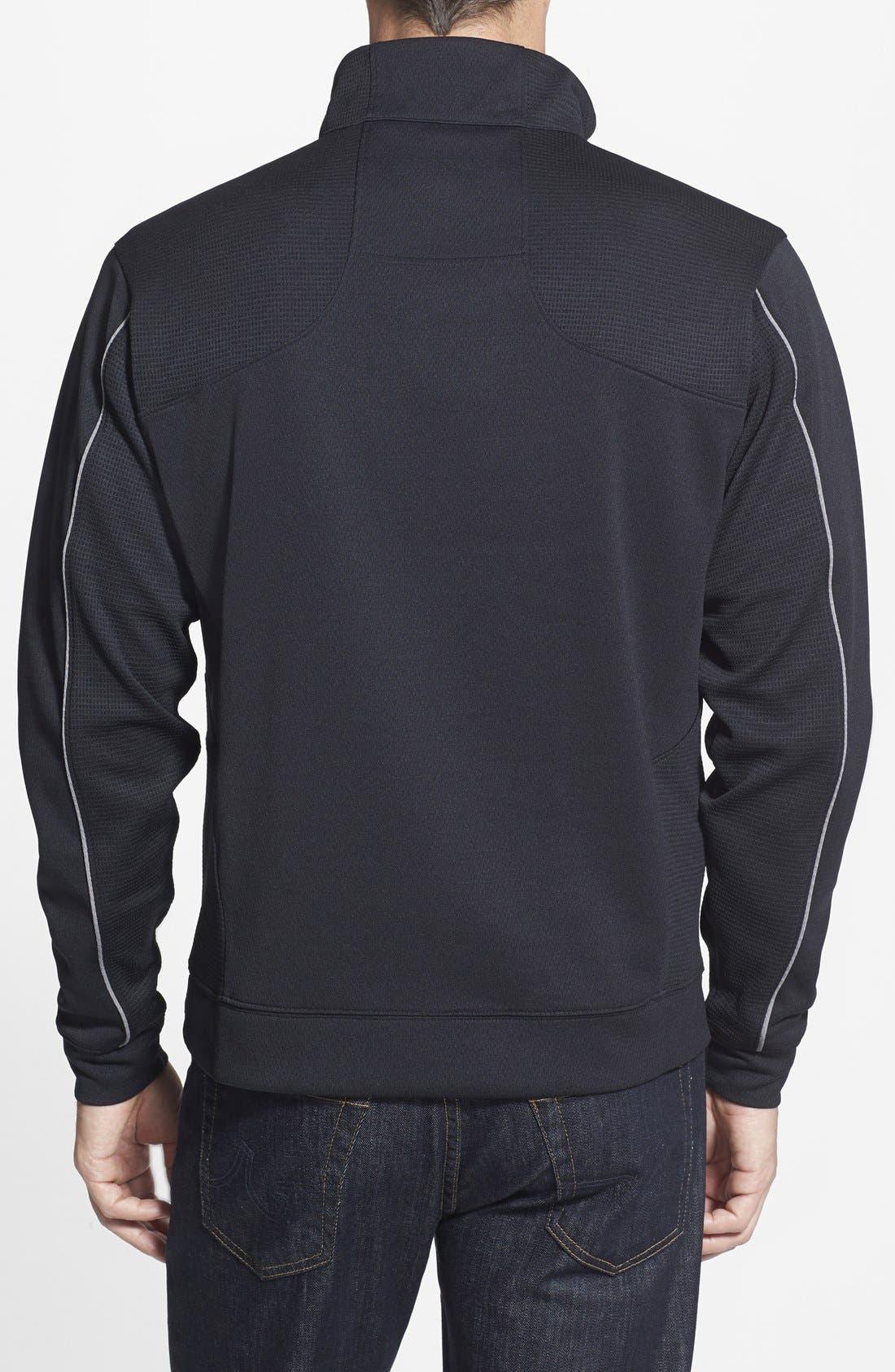 Baltimore Ravens - Edge DryTec Moisture Wicking Half Zip Pullover,                             Alternate thumbnail 2, color,                             001