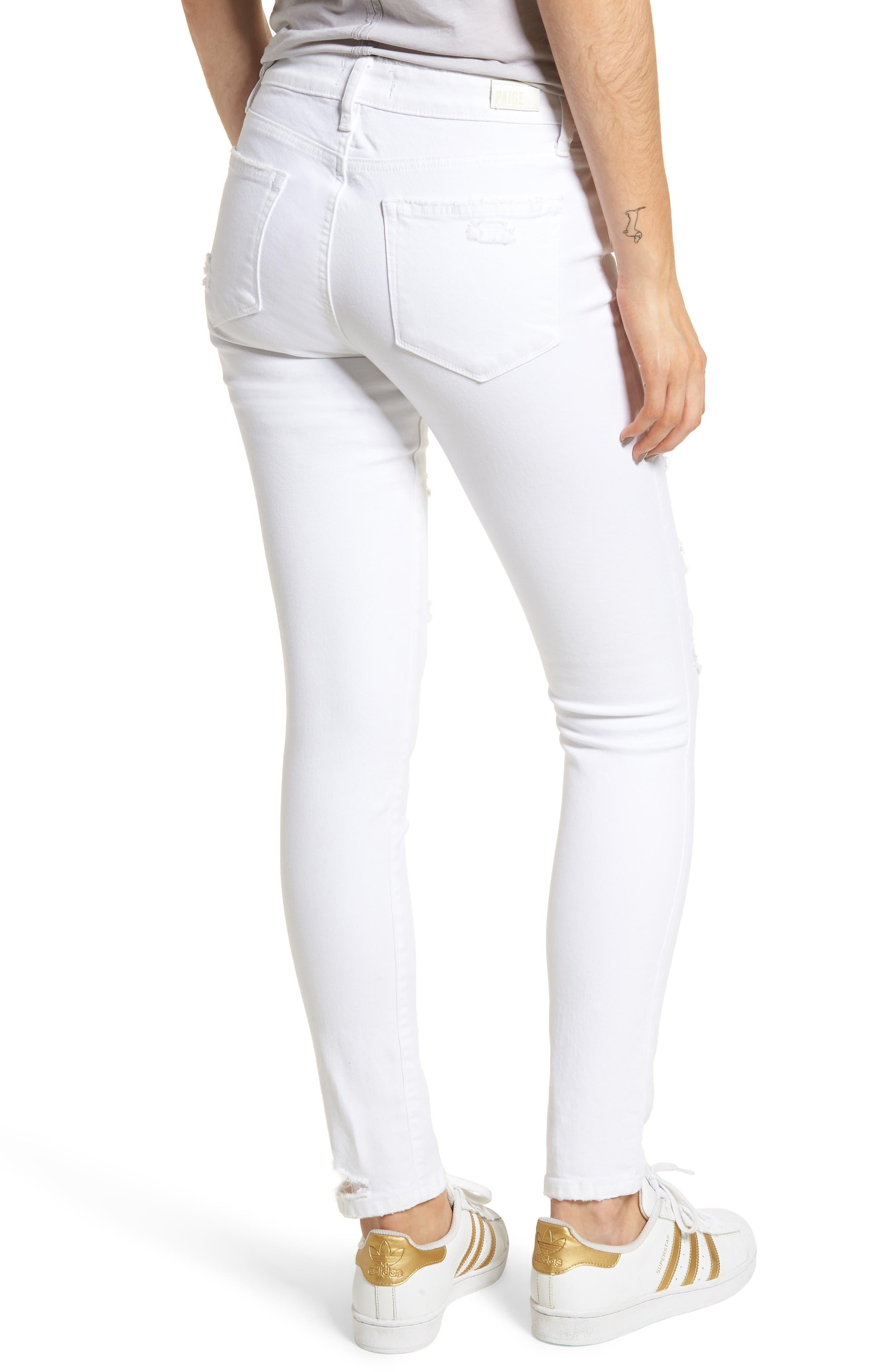 Verdugo Ripped Ultra Skinny Jeans,                             Alternate thumbnail 2, color,                             100