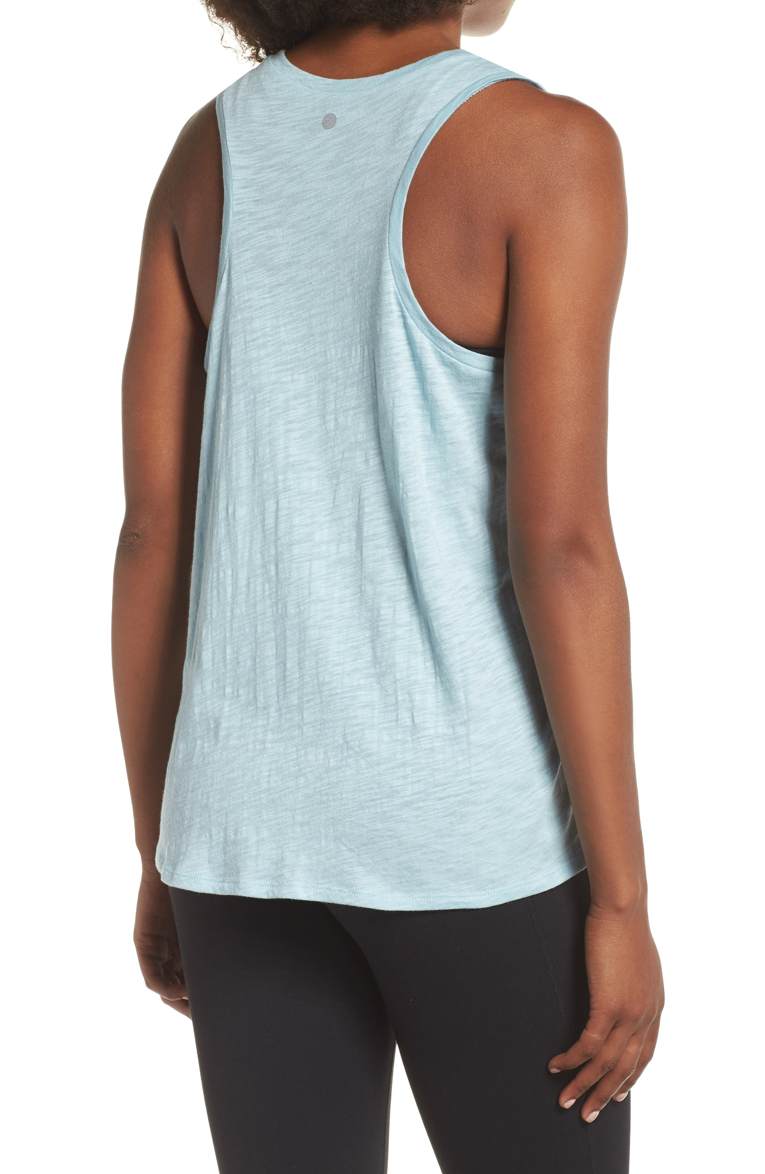 Graphic Tank,                             Alternate thumbnail 2, color,                             BLUE STERLING