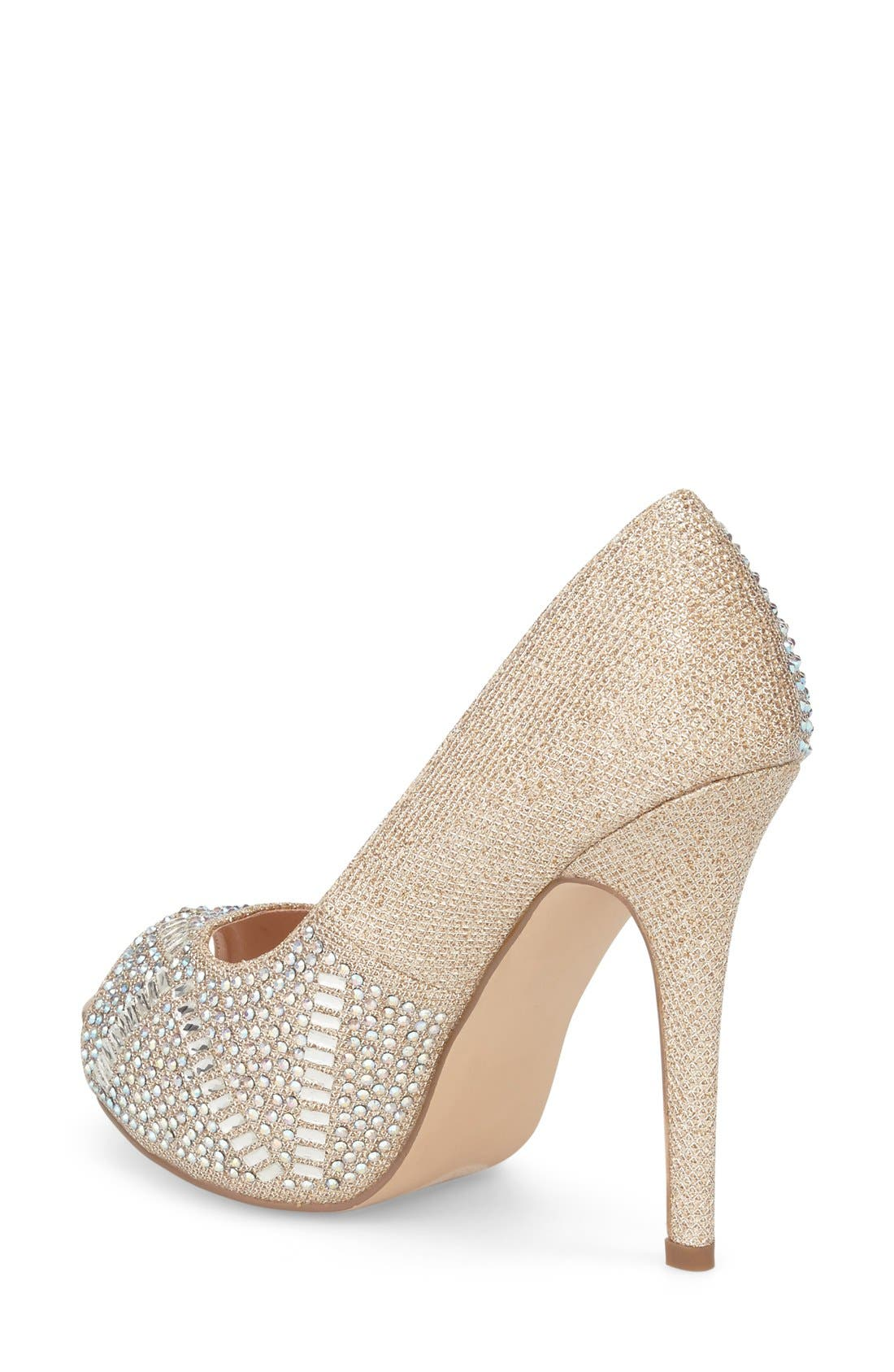 Elissa - 3 Peep Toe Pump,                             Alternate thumbnail 6, color,