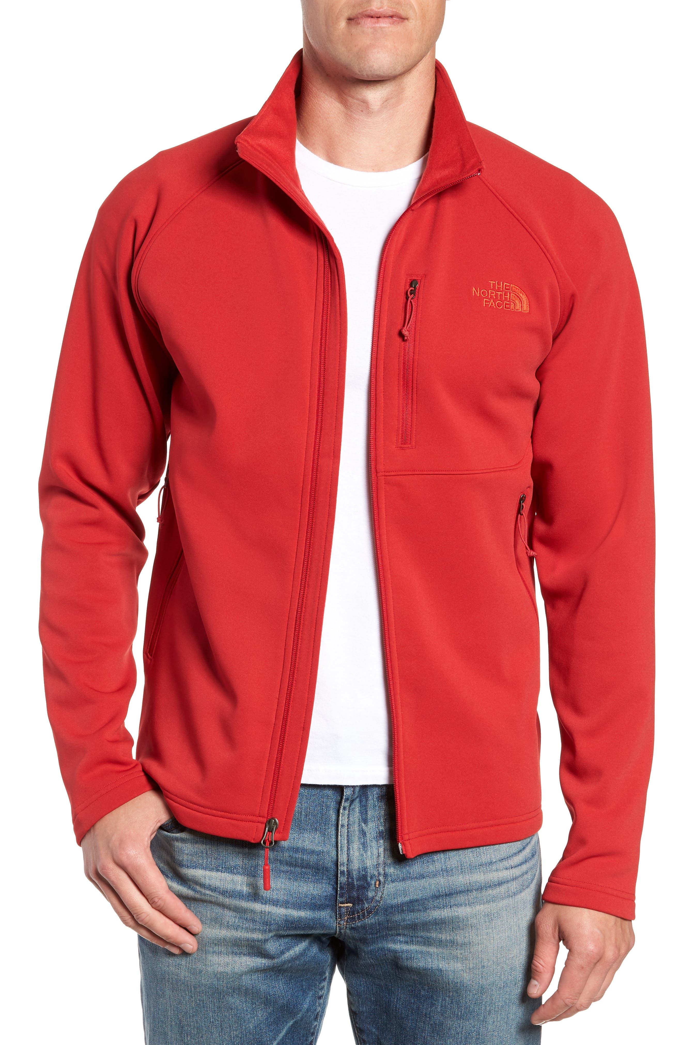 Tenacious Zip Jacket,                         Main,                         color, RAGE RED