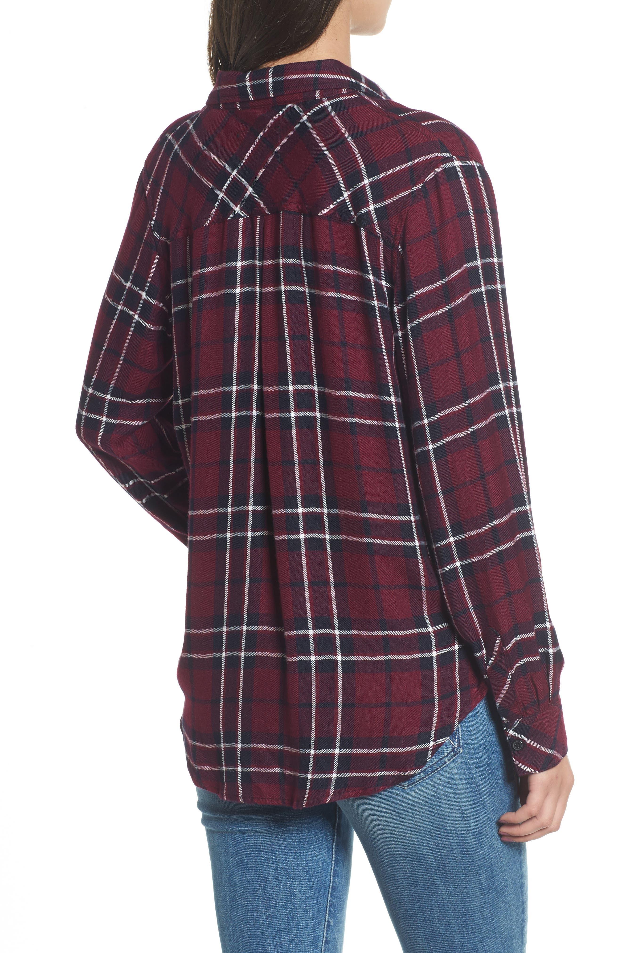 Hunter Plaid Shirt,                             Alternate thumbnail 230, color,