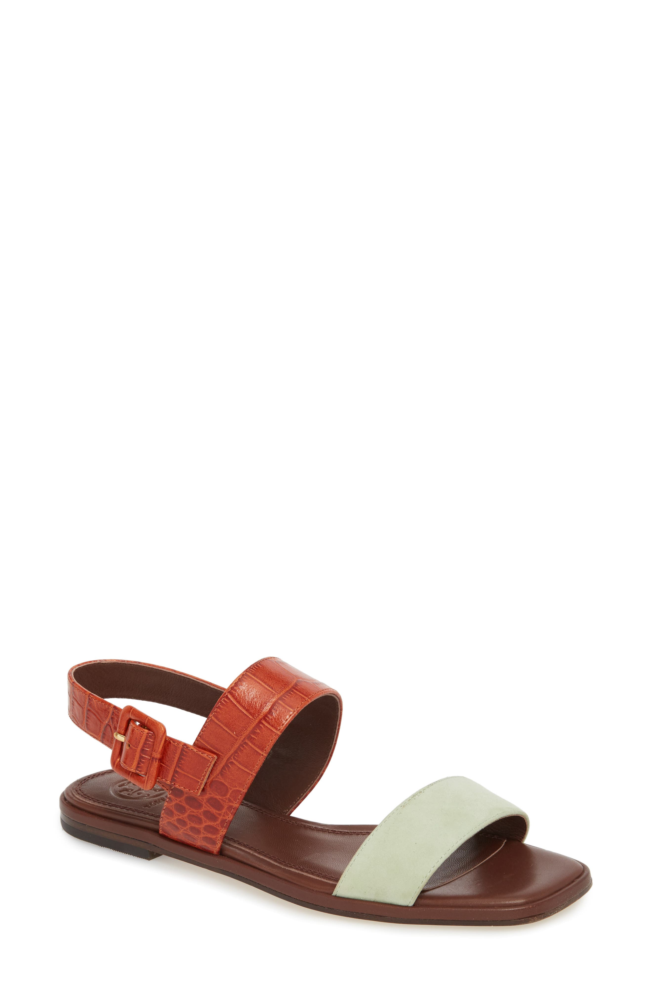 Delaney Double Strap Sandal,                             Main thumbnail 6, color,