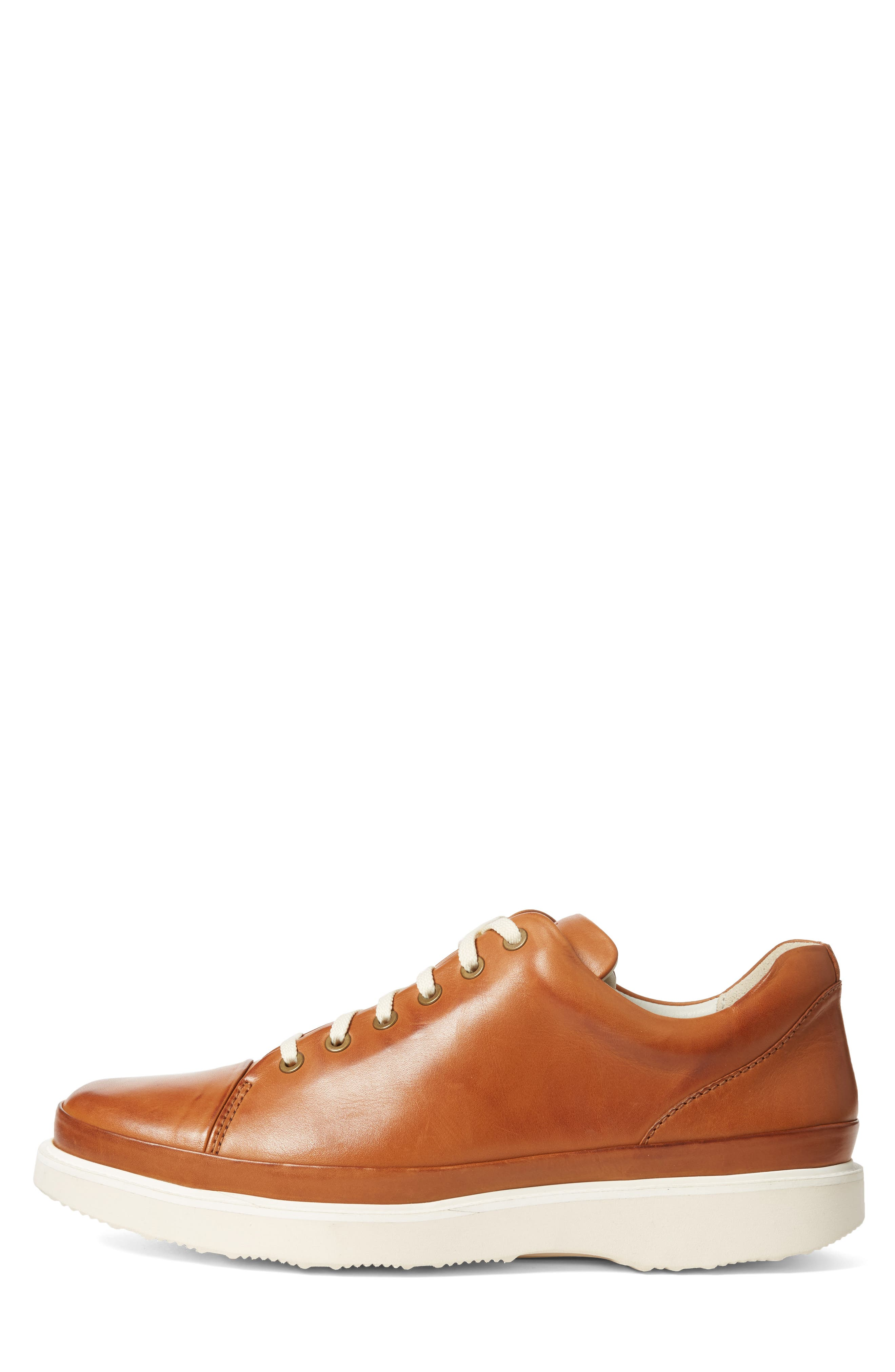 Sneaker,                             Alternate thumbnail 3, color,                             BURNISHED TAN
