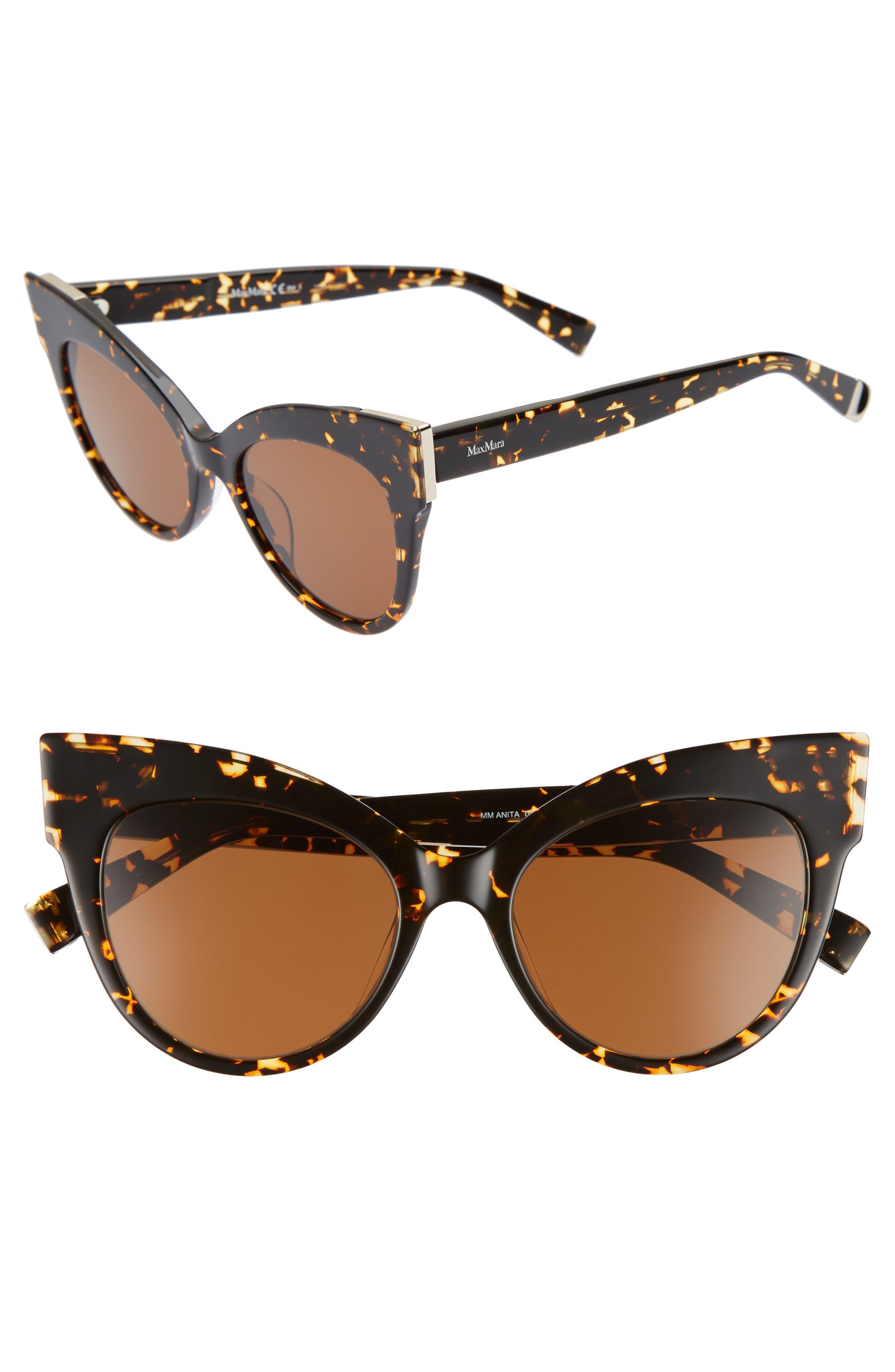 Anita 52mm Cat Eye Sunglasses,                             Main thumbnail 2, color,