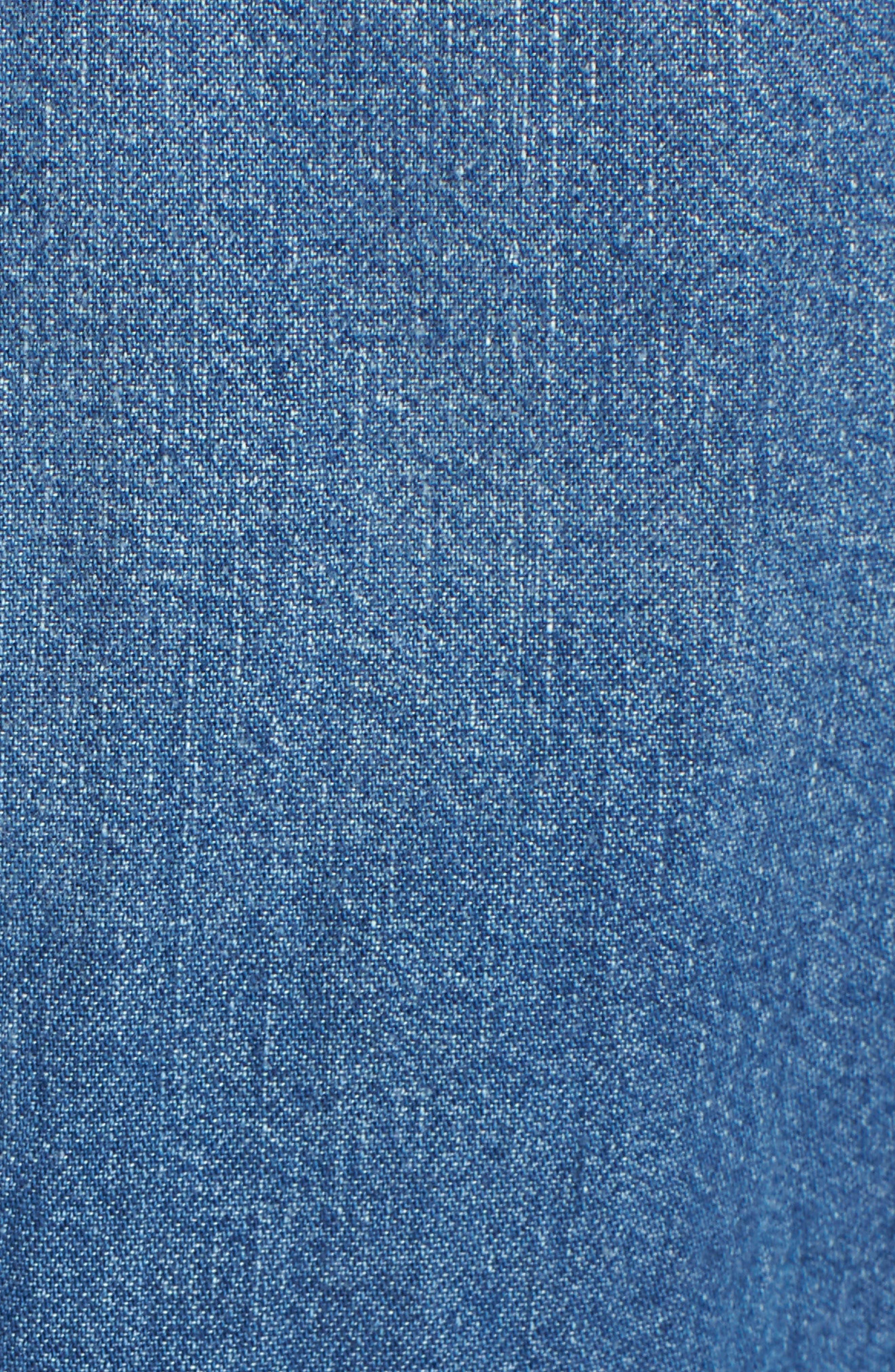 Ultimate Western Denim Shirt,                             Alternate thumbnail 6, color,                             420