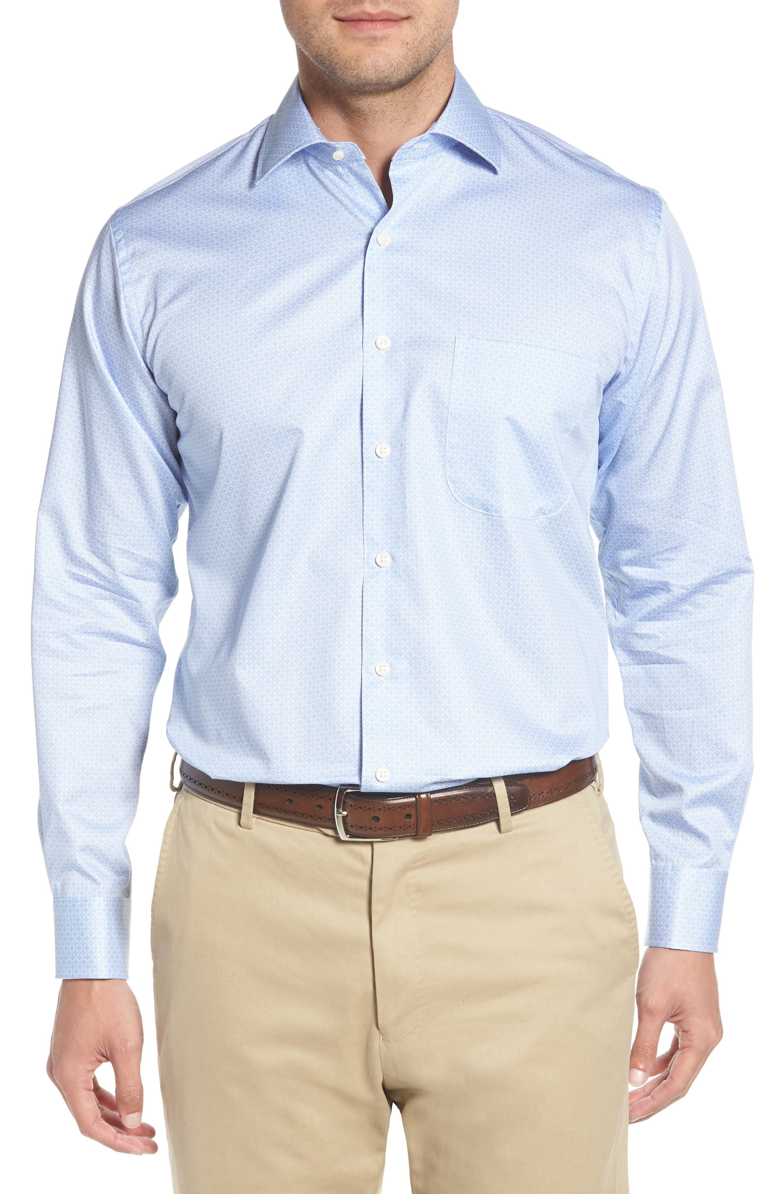 Mod Haze Sport Shirt,                         Main,                         color, JELLYFISH