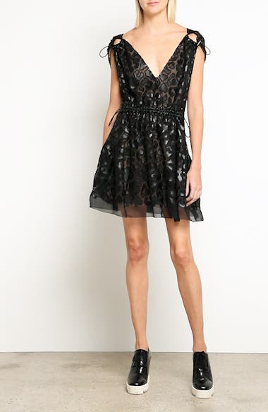Faux Leather Leopard Print Dress, video thumbnail