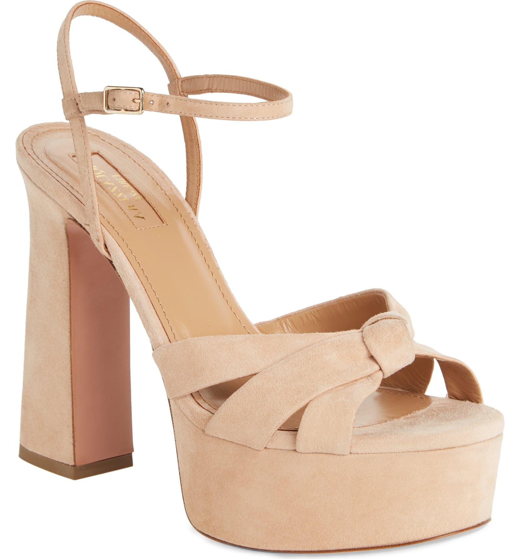 5a6fc5c8e34 Aquazzura Baba Platform Sandal (Women)