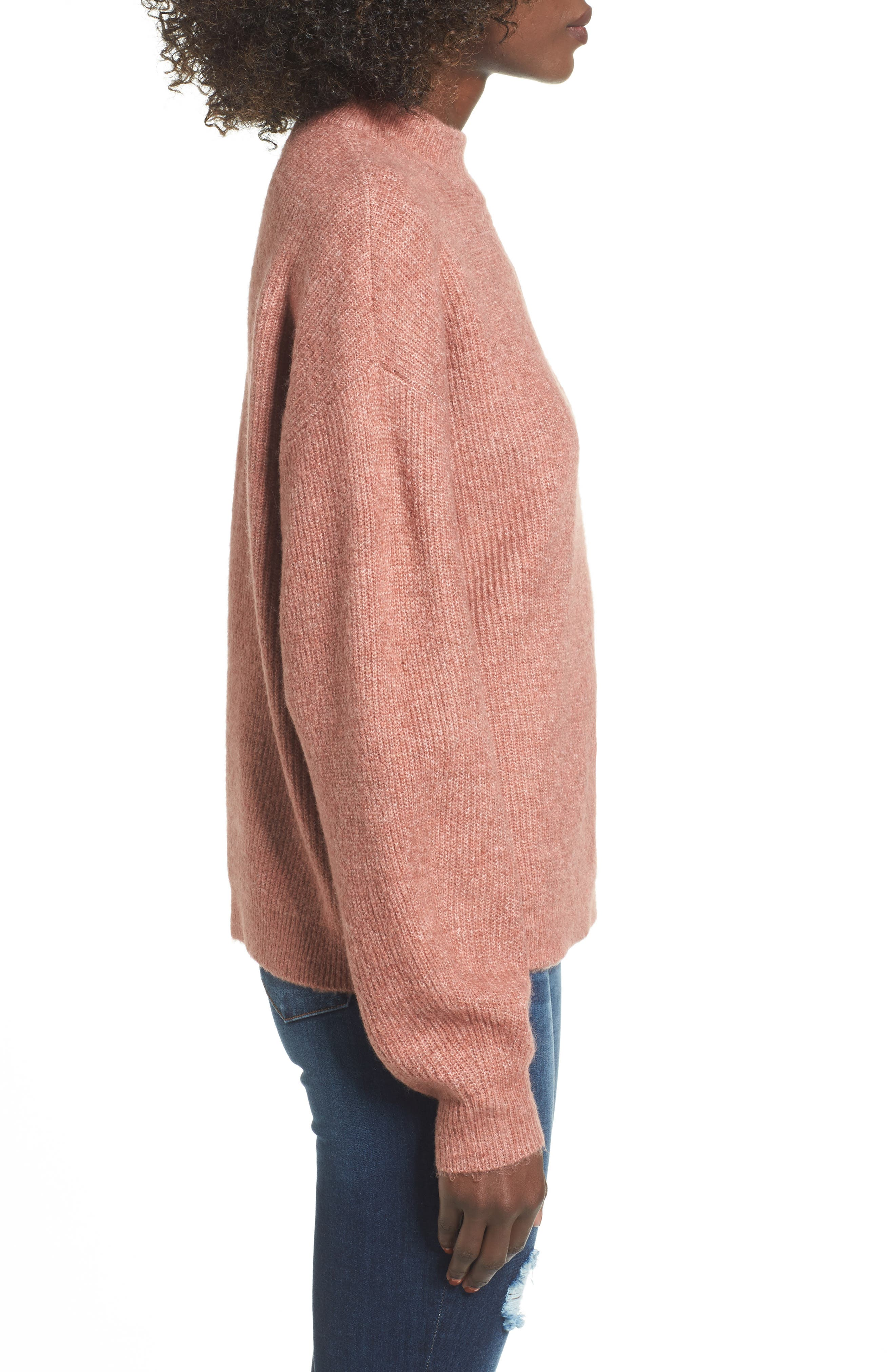 Cozy Ribbed Pullover,                             Alternate thumbnail 27, color,