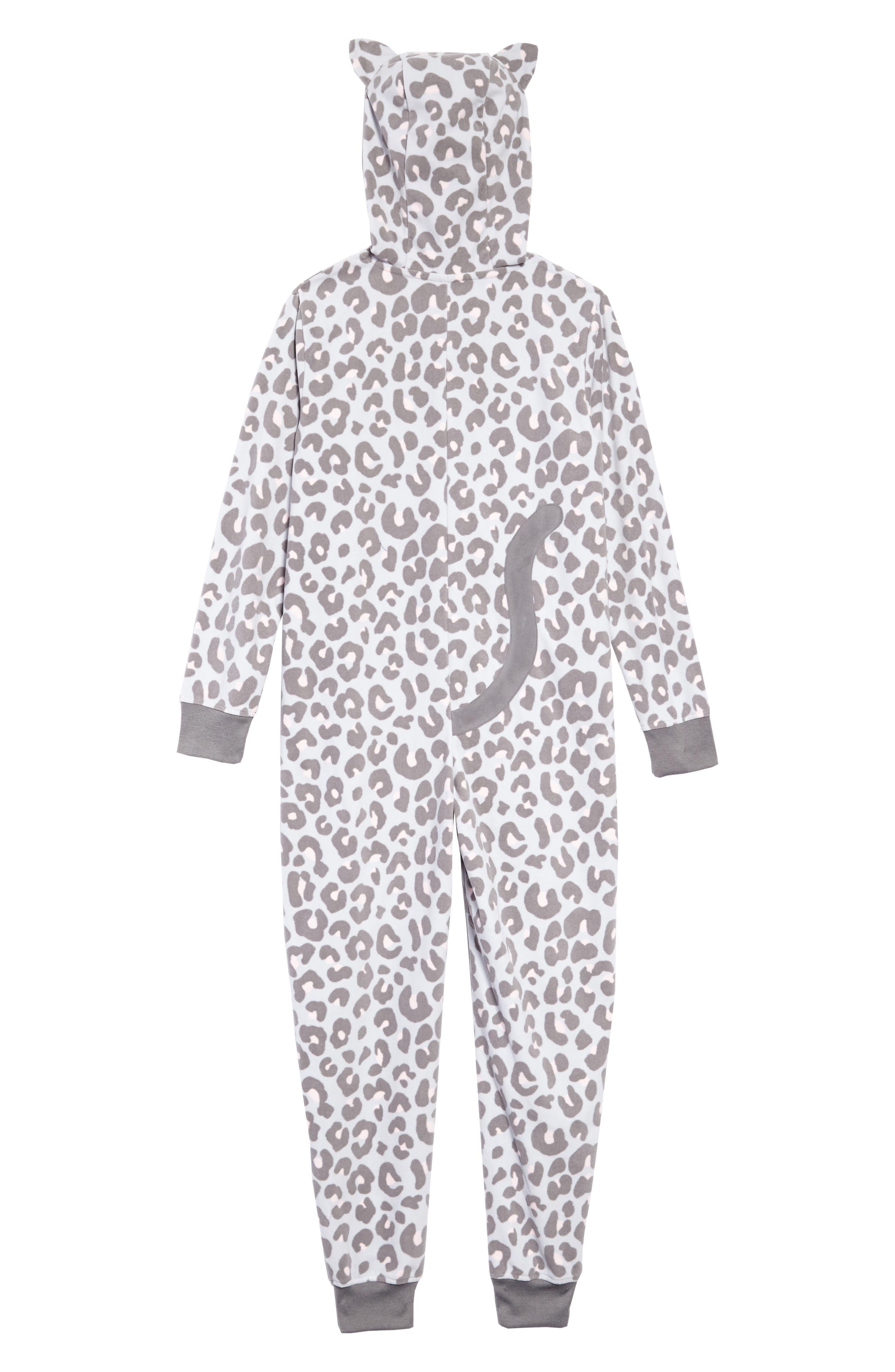 Animal Body Suit,                             Alternate thumbnail 2, color,                             GREY MICRO CAT