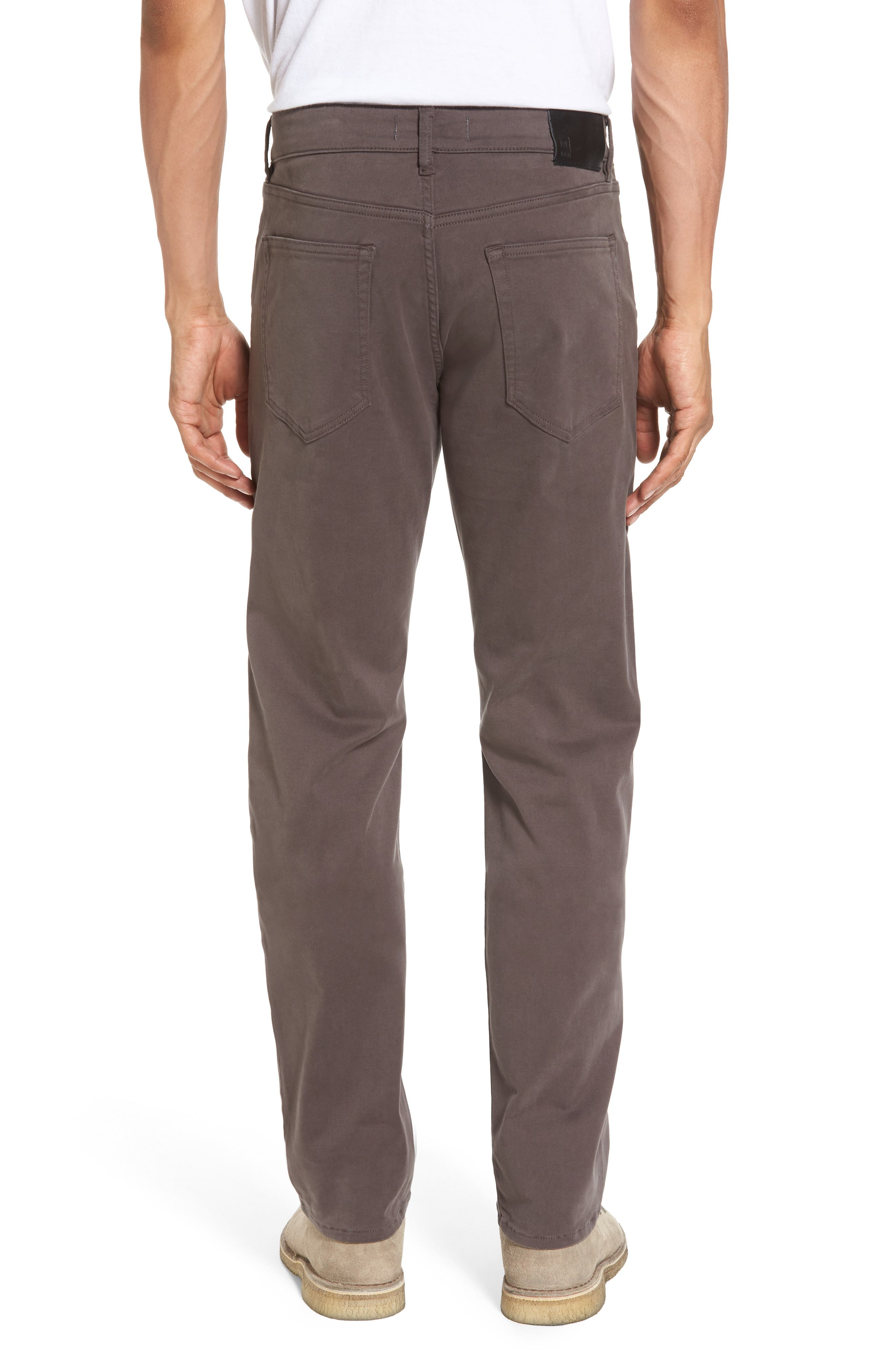 Russell Slim Fit Sateen Twill Pants,                             Alternate thumbnail 14, color,