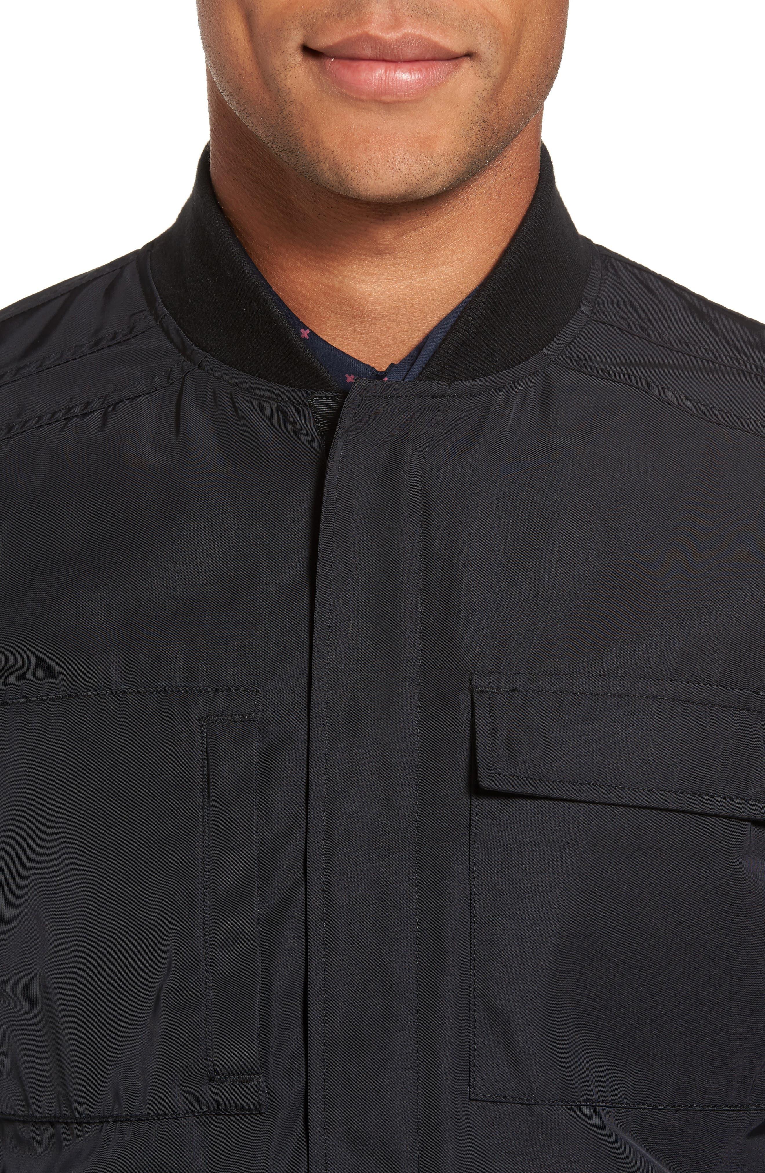 Utility Jacket,                             Alternate thumbnail 4, color,                             001