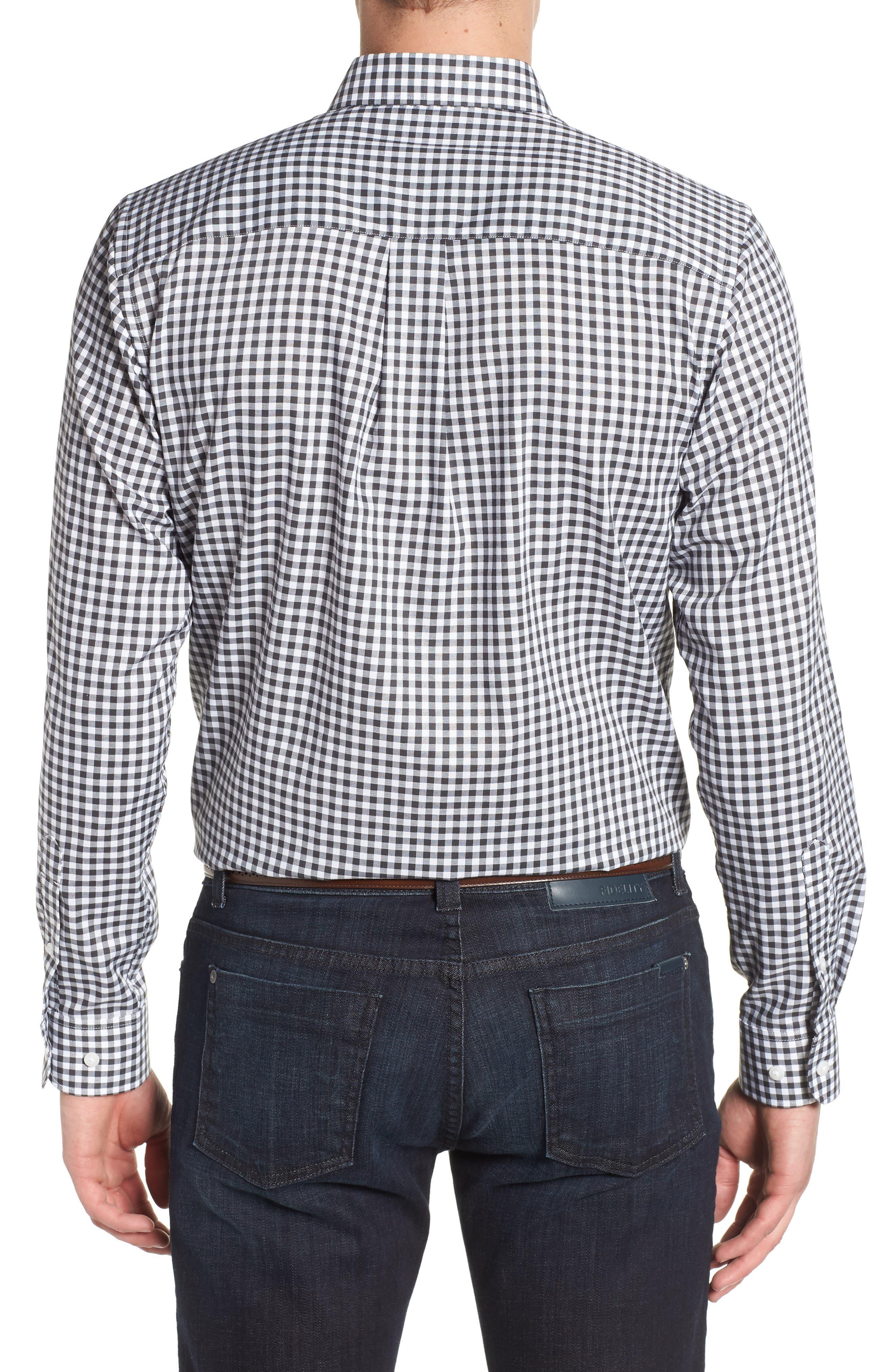 League Jacksonville Jaguars Regular Fit Shirt,                             Alternate thumbnail 2, color,                             CHARCOAL