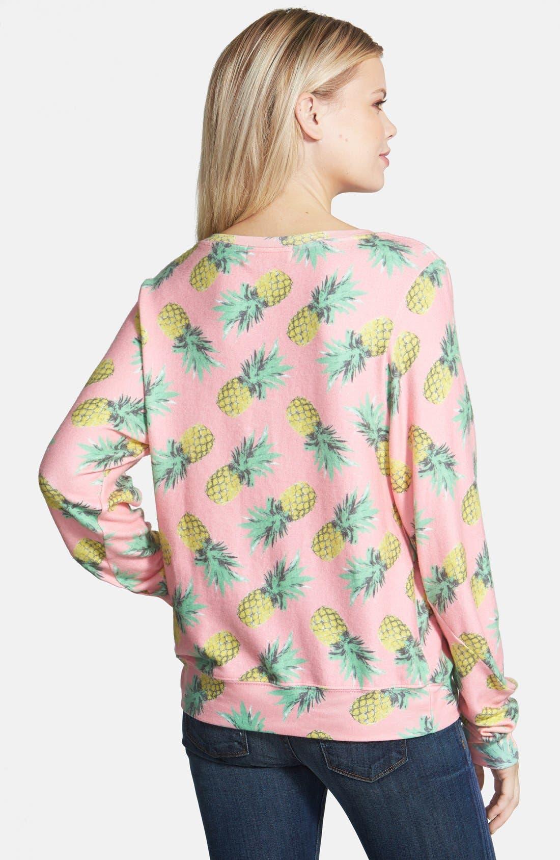 'Pineapple Palace' Sweatshirt,                             Alternate thumbnail 5, color,                             690