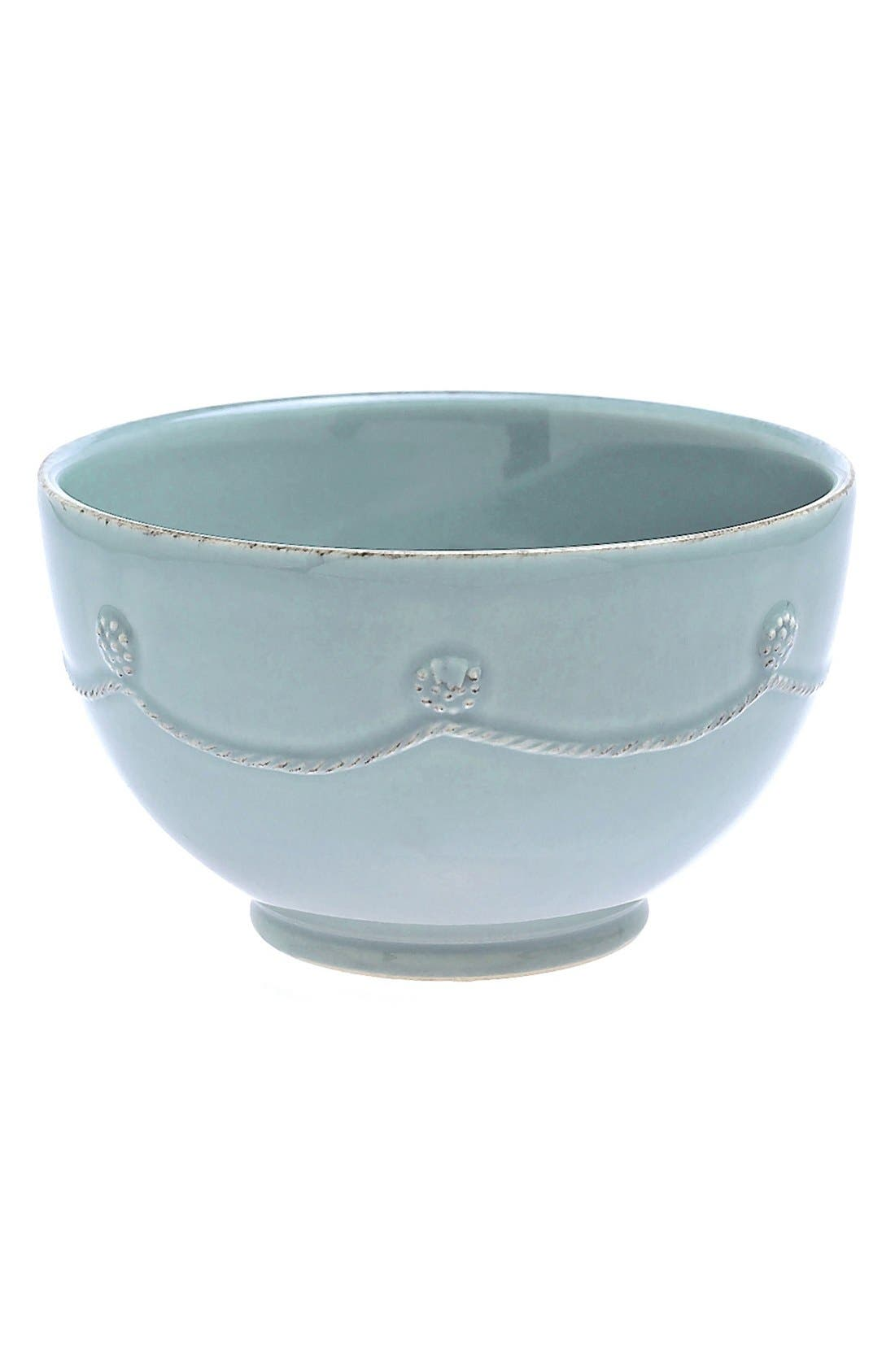 'Berry and Thread' Soup Bowl,                         Main,                         color, ICE BLUE