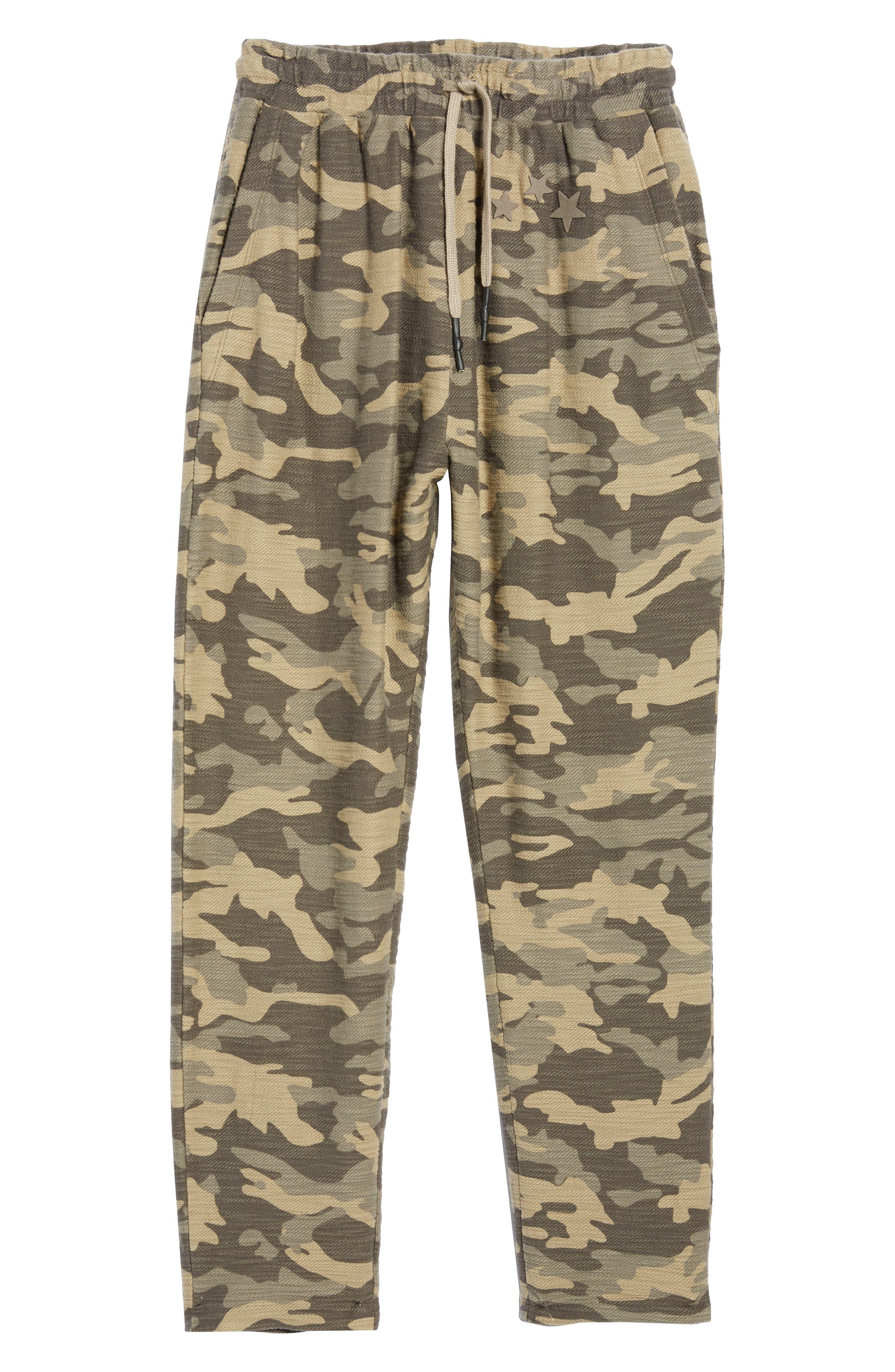 Camo Fleece Sweatpants,                             Alternate thumbnail 6, color,                             300