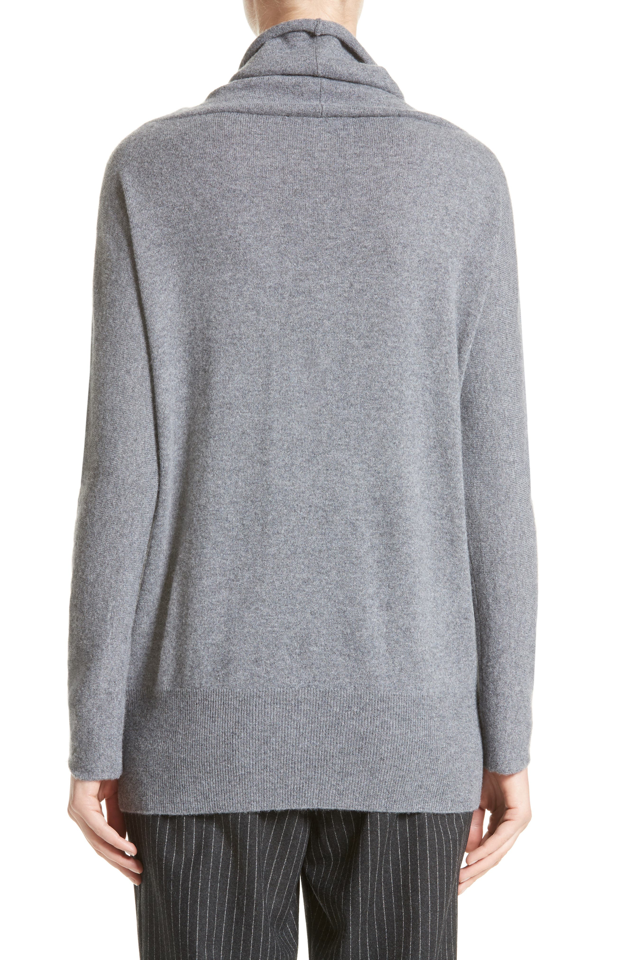 Embellished Cashmere Turtleneck Sweater,                             Alternate thumbnail 2, color,                             030