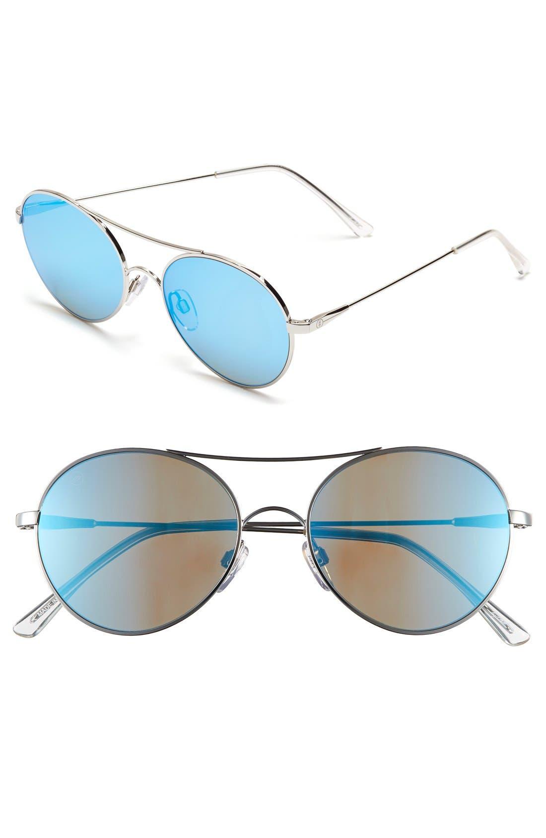 'Huxley' 53mm Round Sunglasses,                             Main thumbnail 1, color,