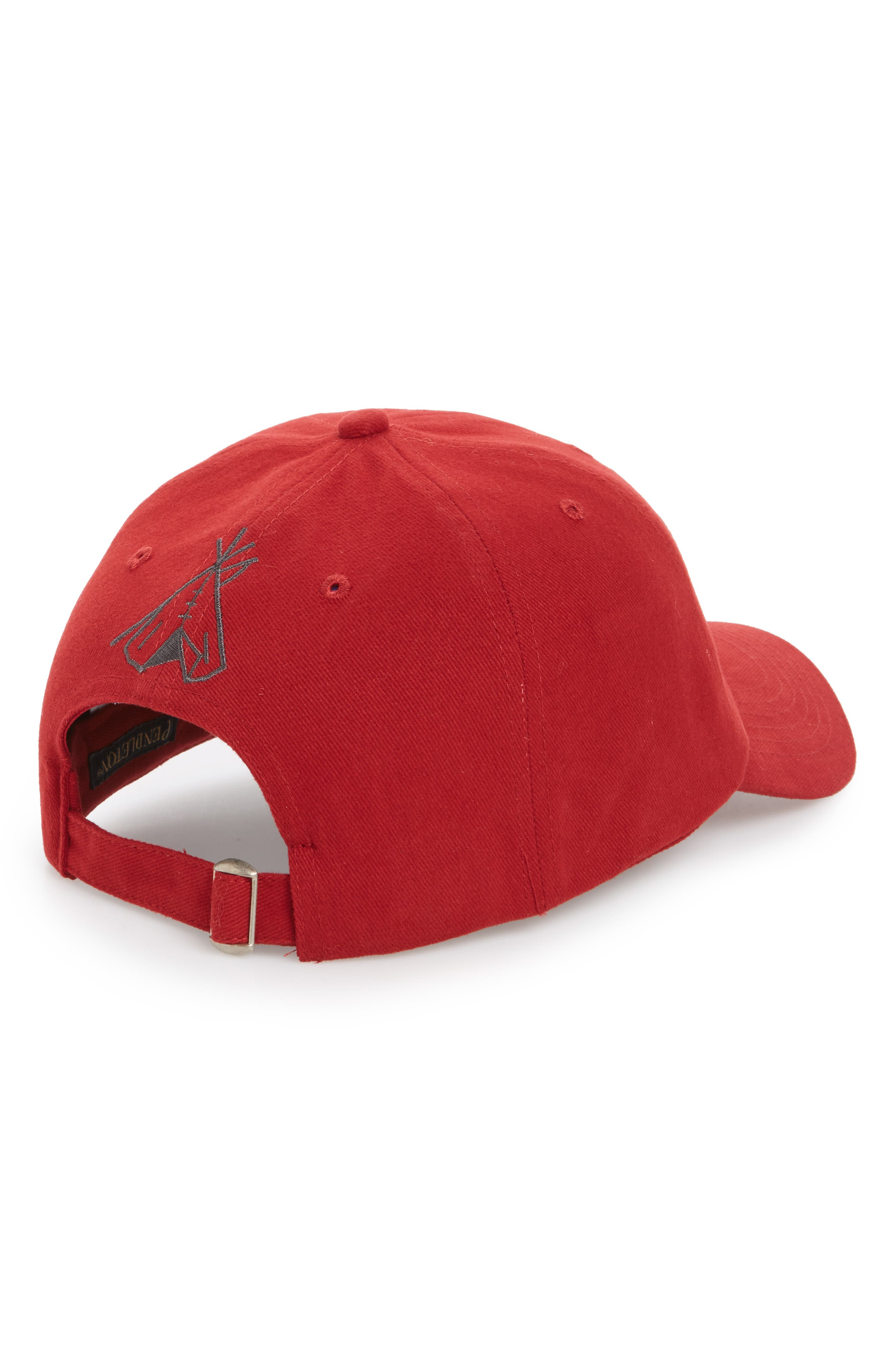 Embroidered Ball Cap,                             Alternate thumbnail 4, color,