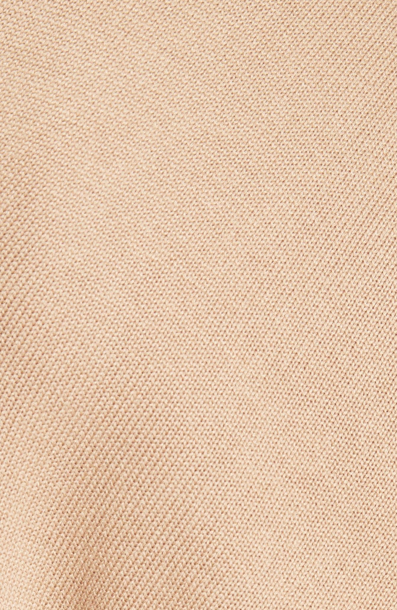 Tie Detail V-Neck Sweater,                             Alternate thumbnail 5, color,                             250