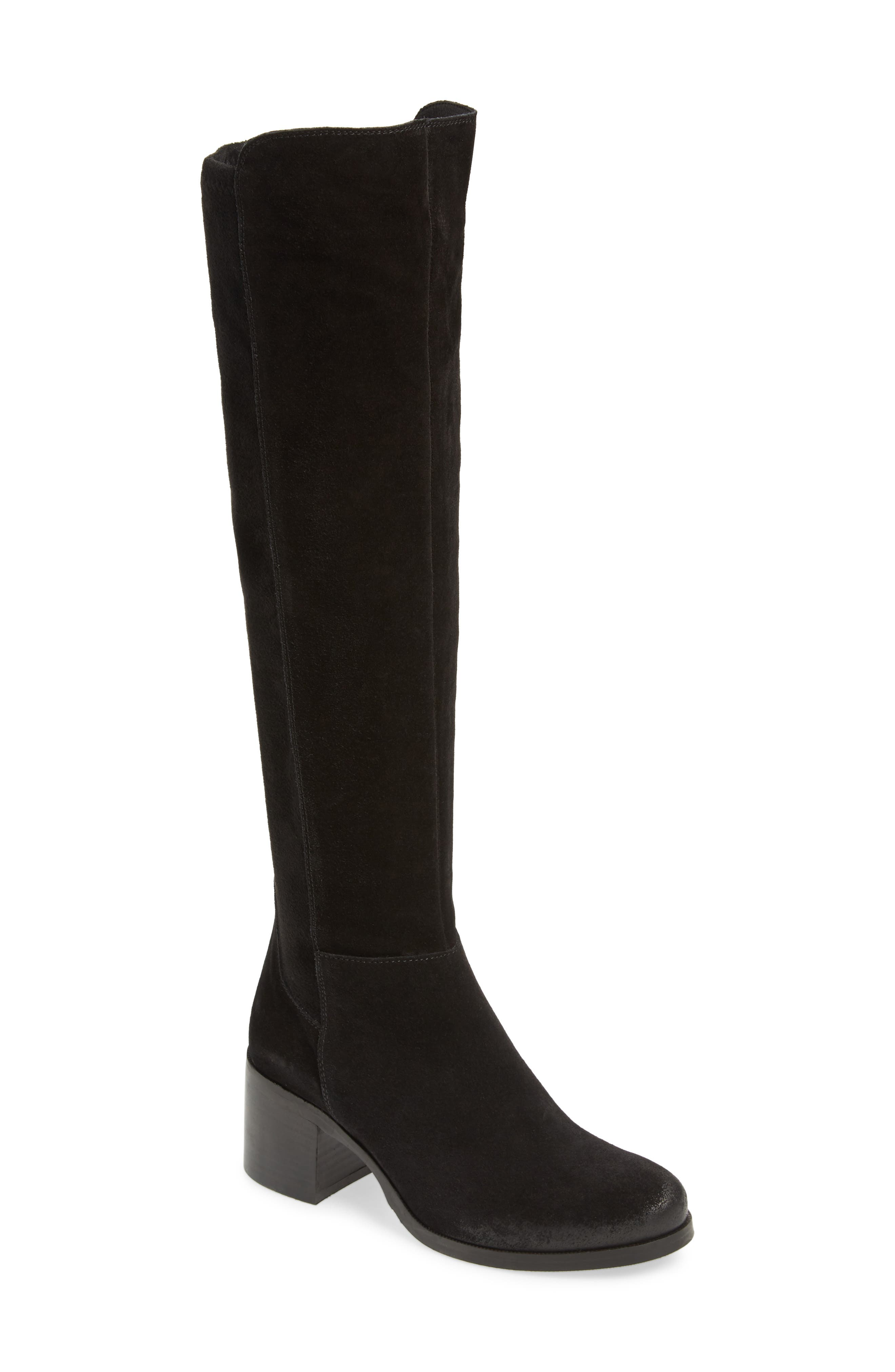 Cordani Bentley Knee High Boot - Black
