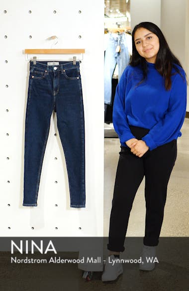 MOTO Jamie High Waist Skinny Jeans, sales video thumbnail