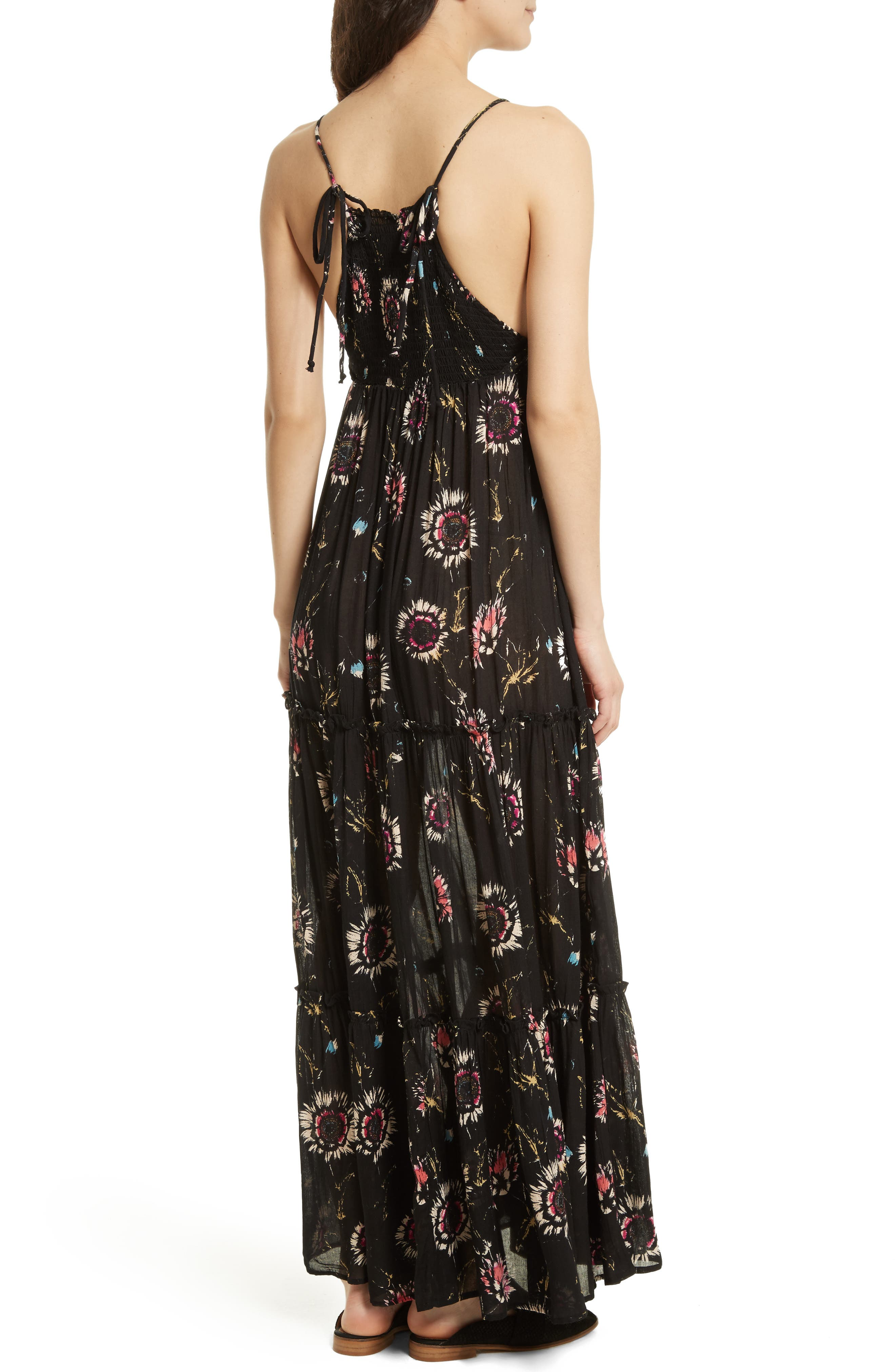 Garden Party Maxi Dress,                             Alternate thumbnail 12, color,