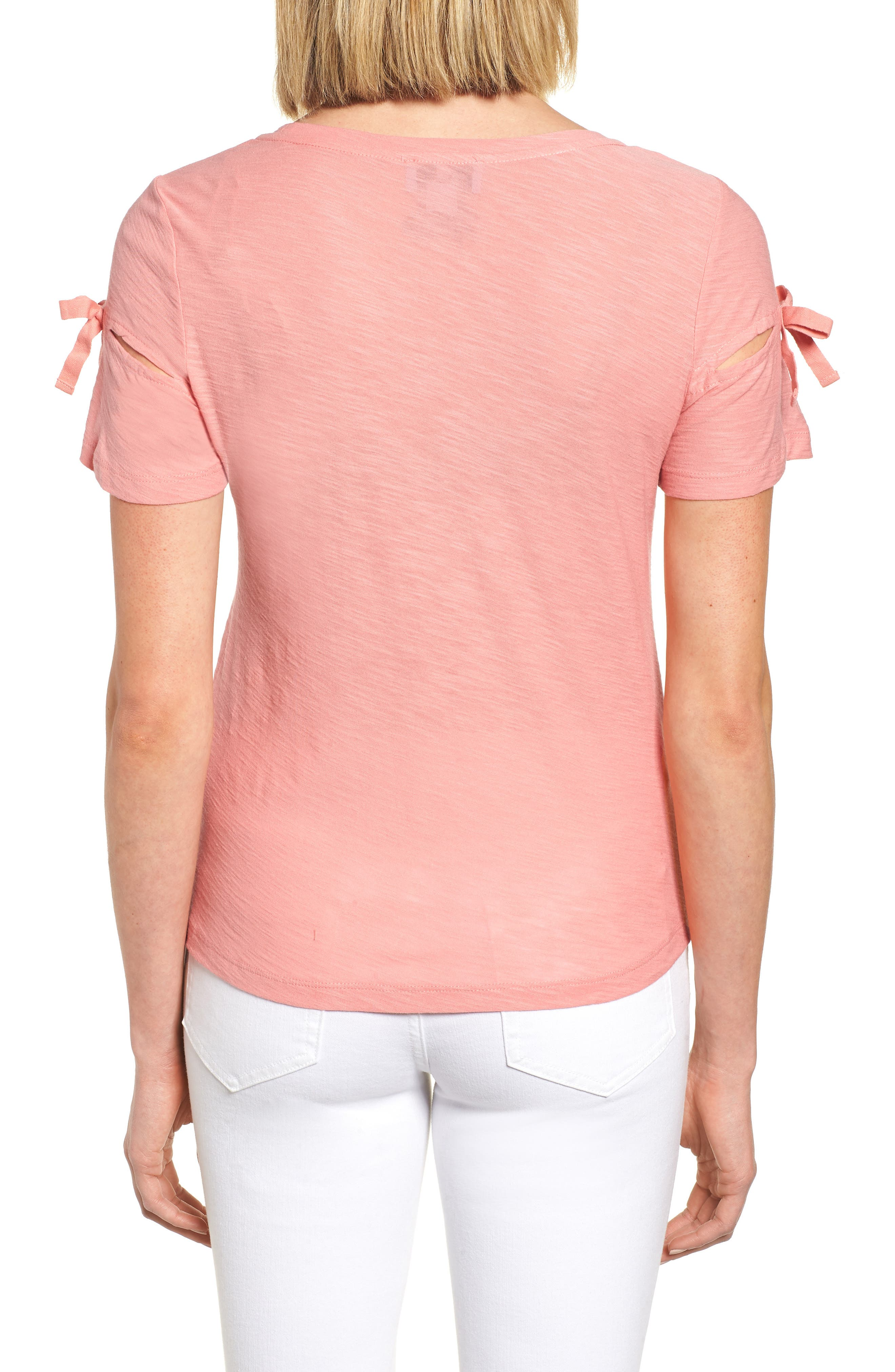 Bow Sleeve Knit Top,                             Alternate thumbnail 14, color,