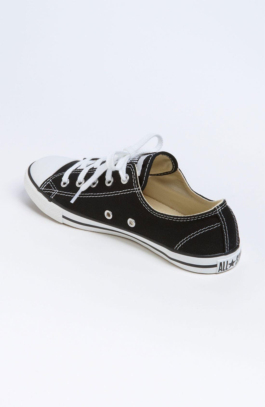 CONVERSE,                             Chuck Taylor<sup>®</sup> 'Dainty' Sneaker,                             Alternate thumbnail 4, color,                             001