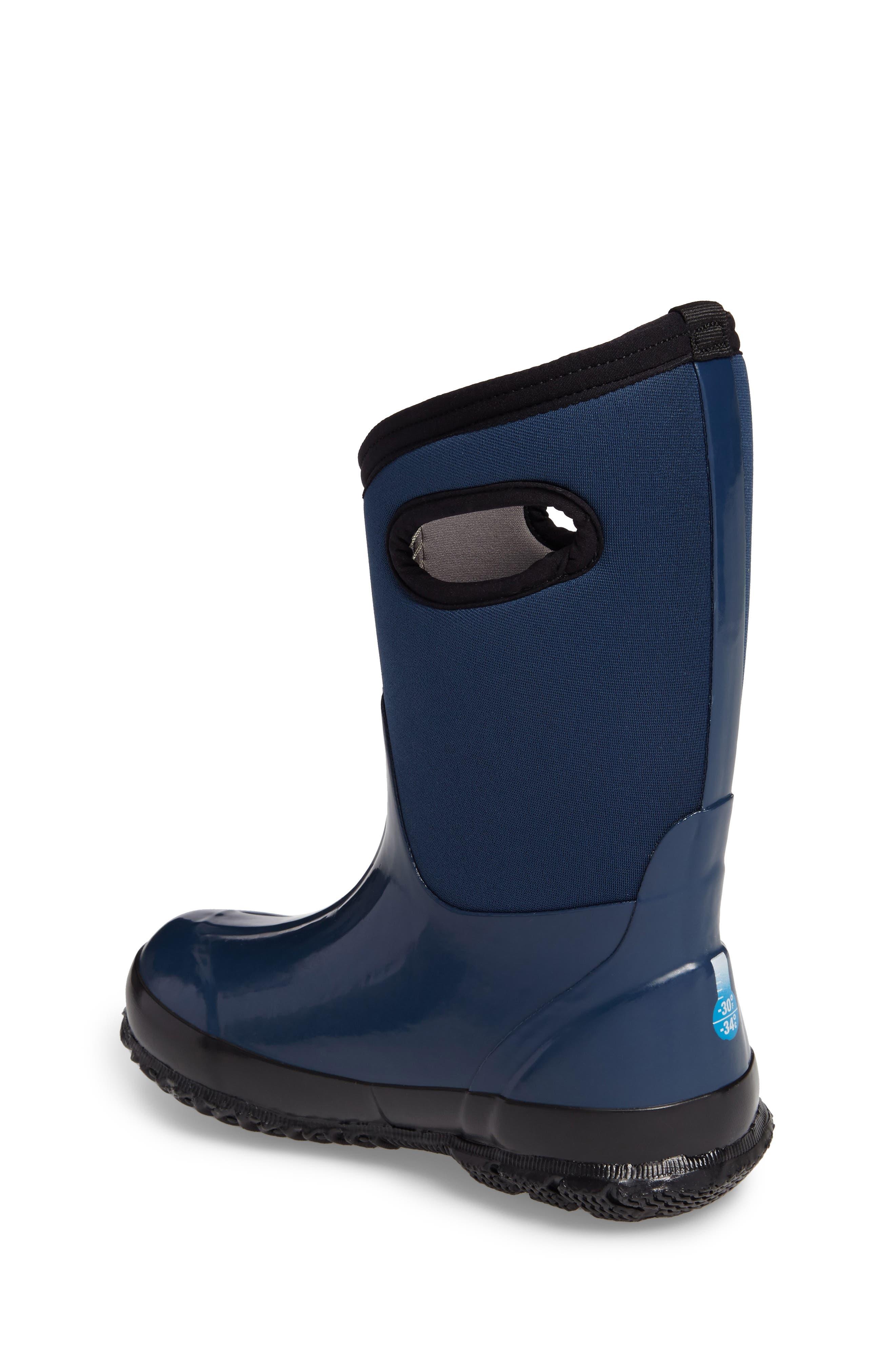 Classic Solid Waterproof Rain Boot,                             Alternate thumbnail 2, color,                             410