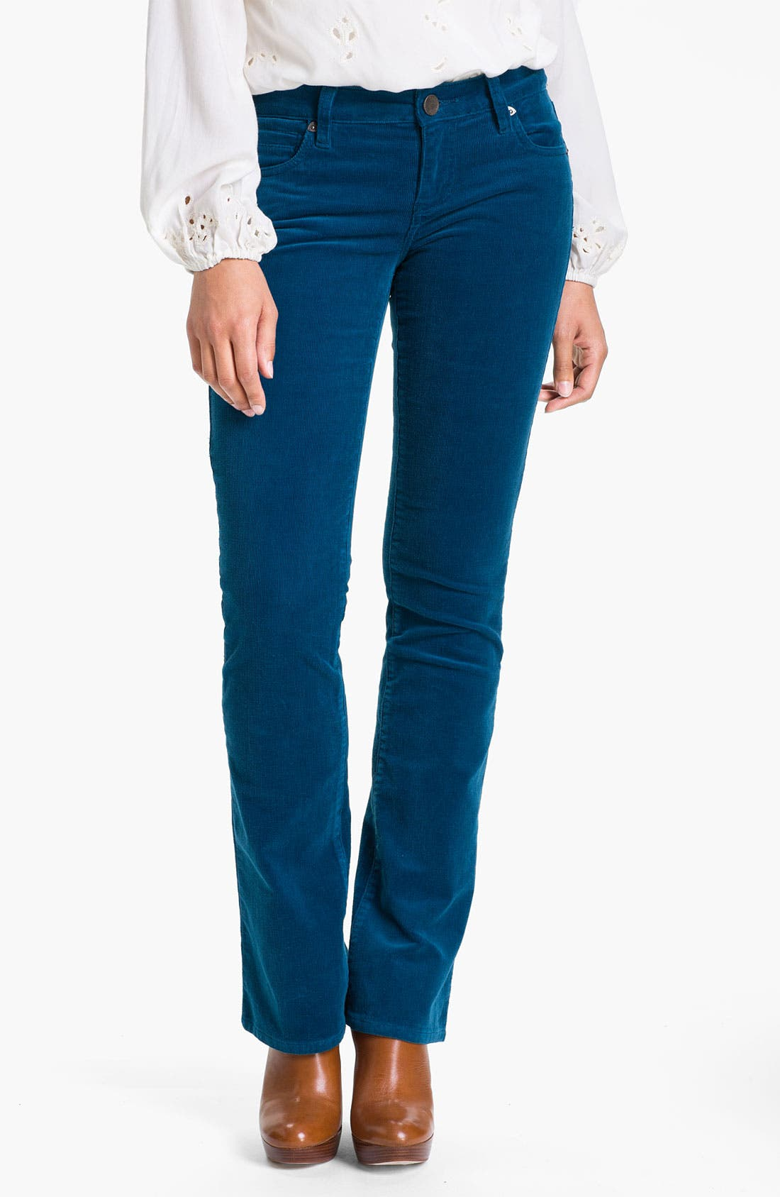 Baby Bootcut Corduroy Jeans,                             Main thumbnail 20, color,