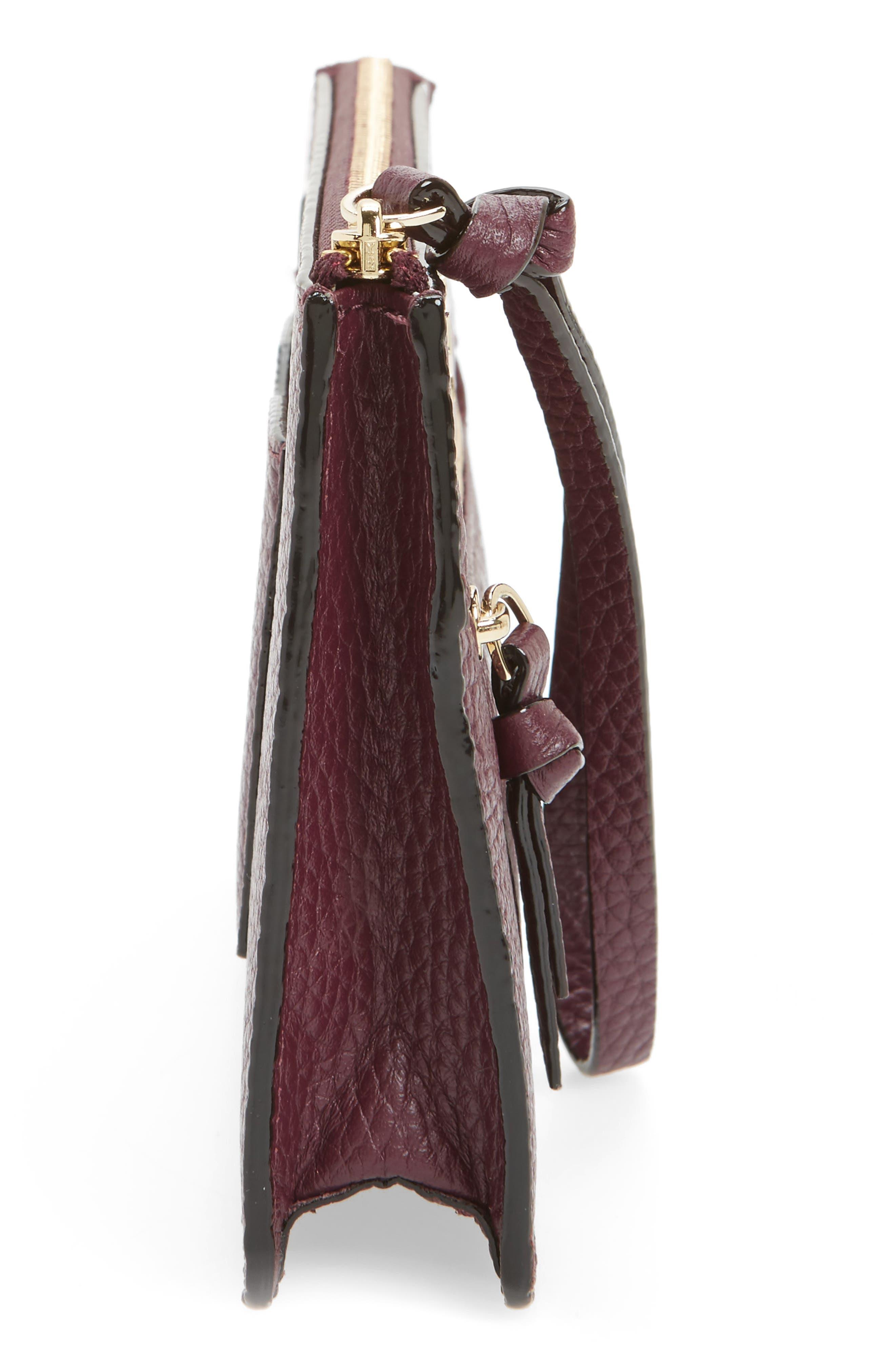 jackson street - lancey leather wristlet,                             Alternate thumbnail 28, color,