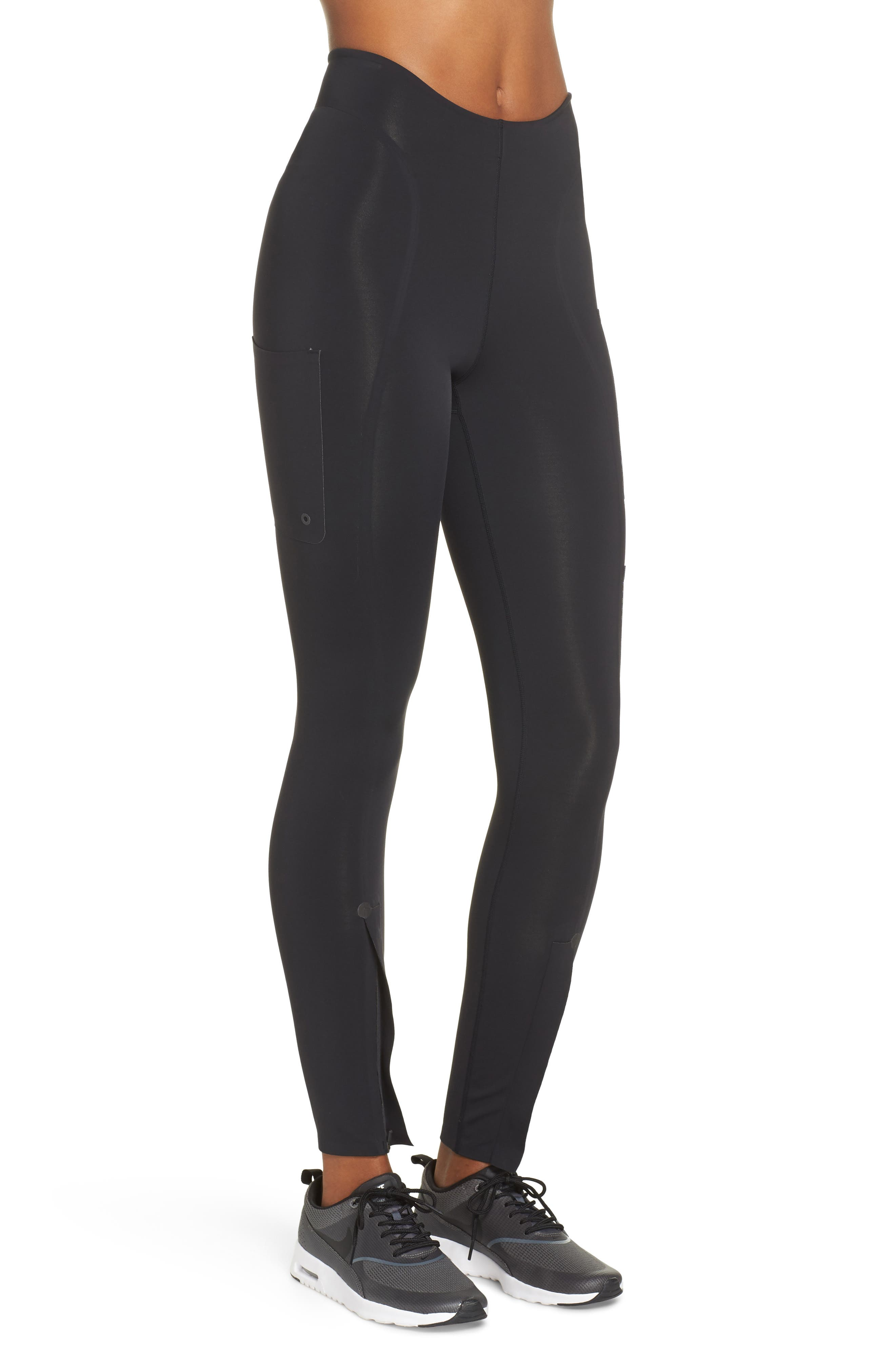 NikeLab XX Women's High Rise Training Tights,                             Alternate thumbnail 3, color,                             BLACK