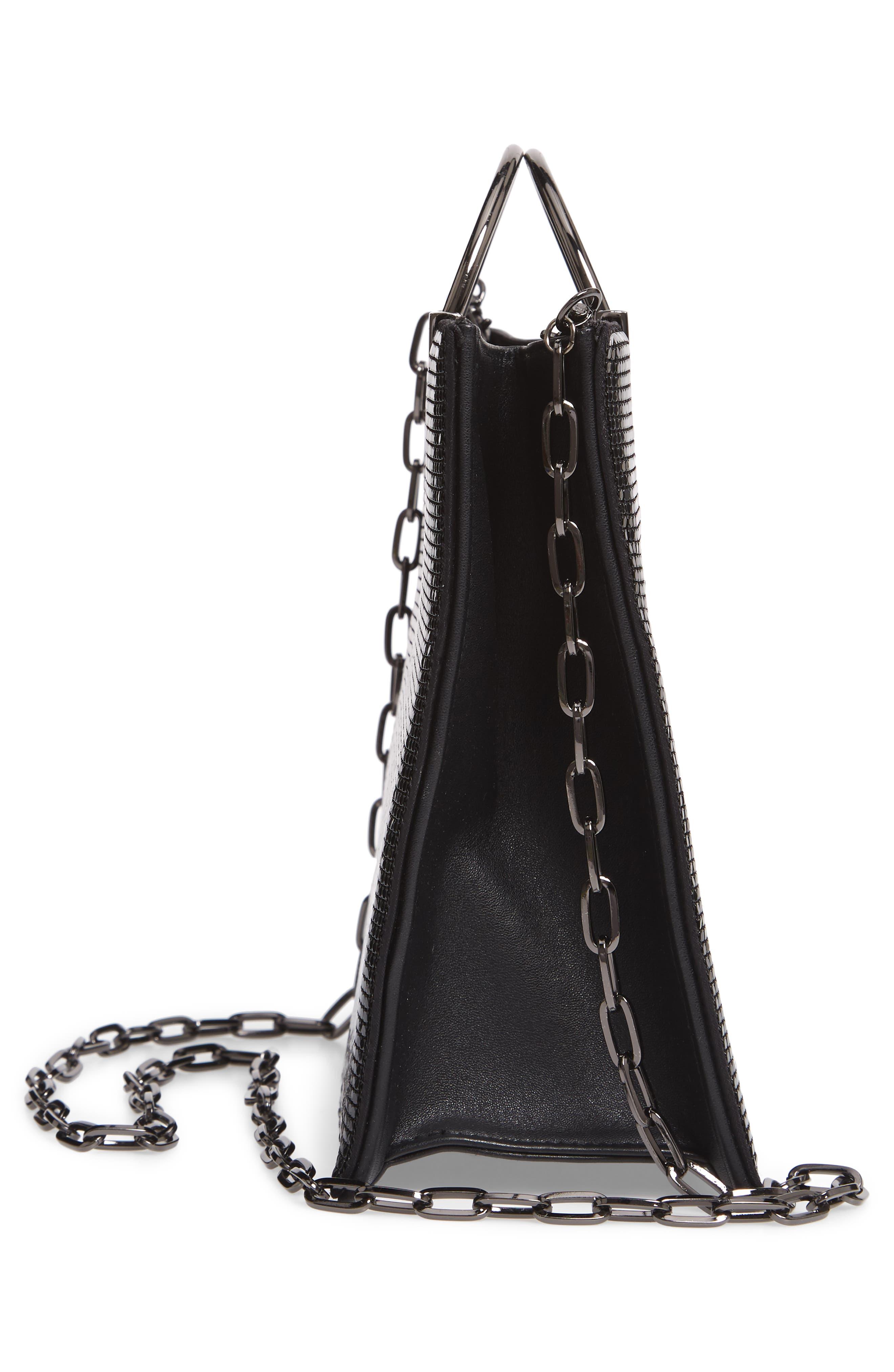 Nolita Tote Bag,                             Alternate thumbnail 5, color,                             BLACK