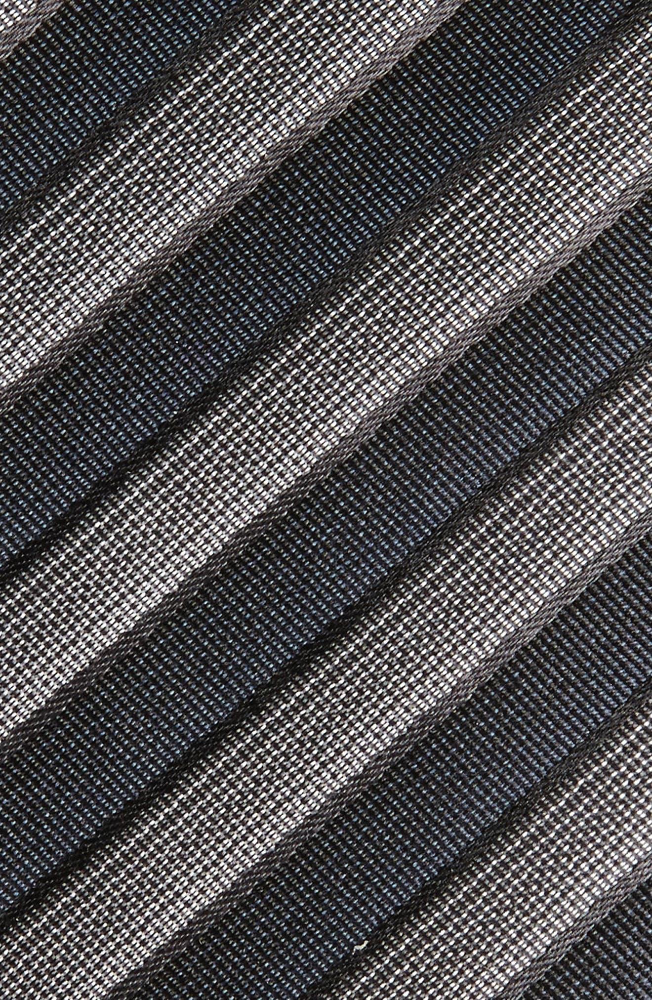 Stripe Silk Tie,                             Alternate thumbnail 2, color,                             024